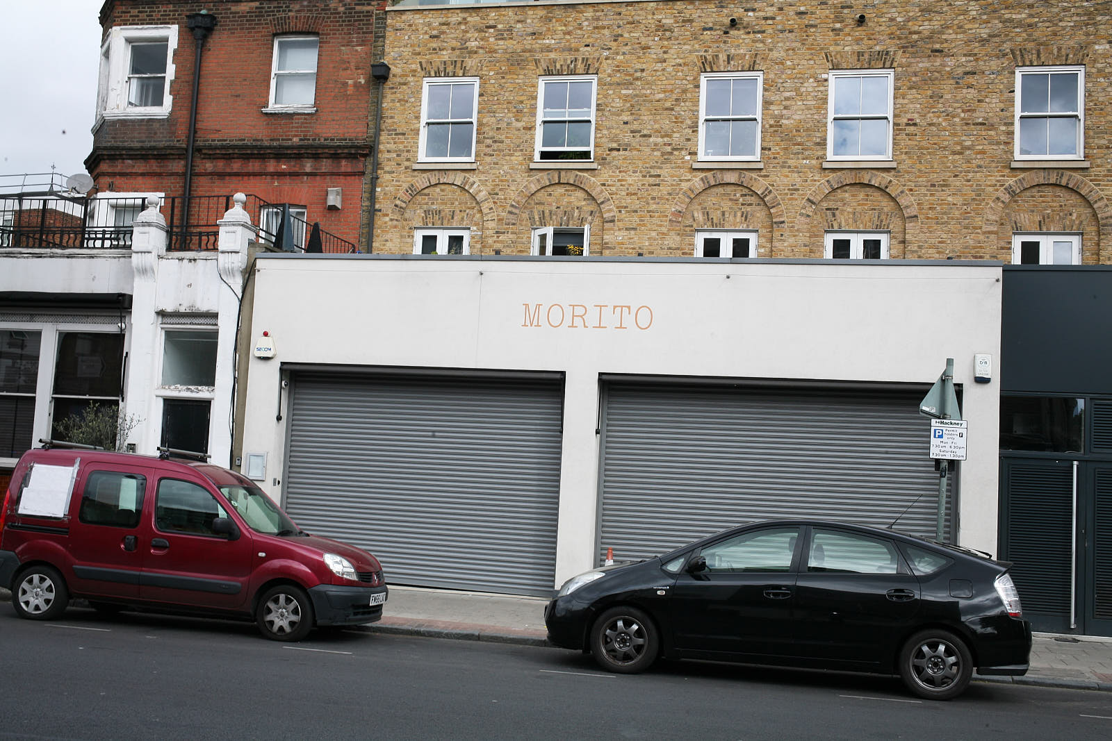 Moro on Hackney Road, east London, is closed because of the covid—19 pandemic