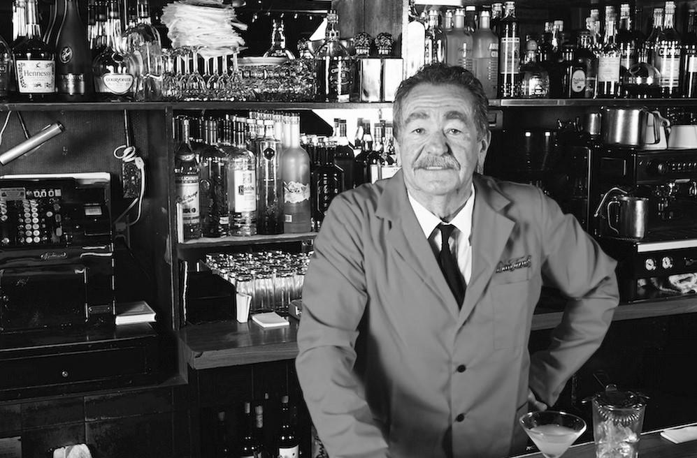 Michael Gotovac, bartender at Dan Tana's for over 50 years