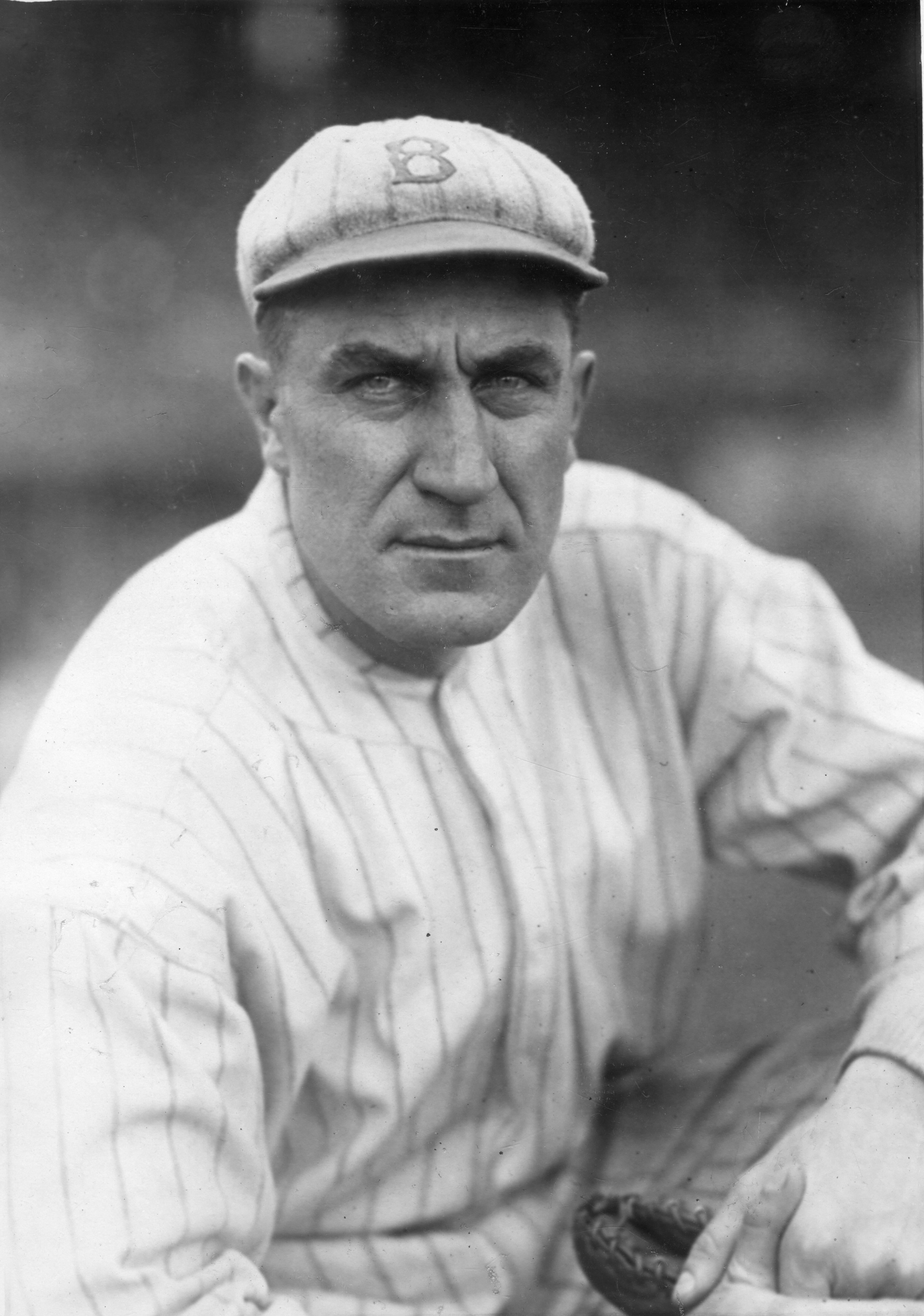 Ed Konetchy At Ebbets Field