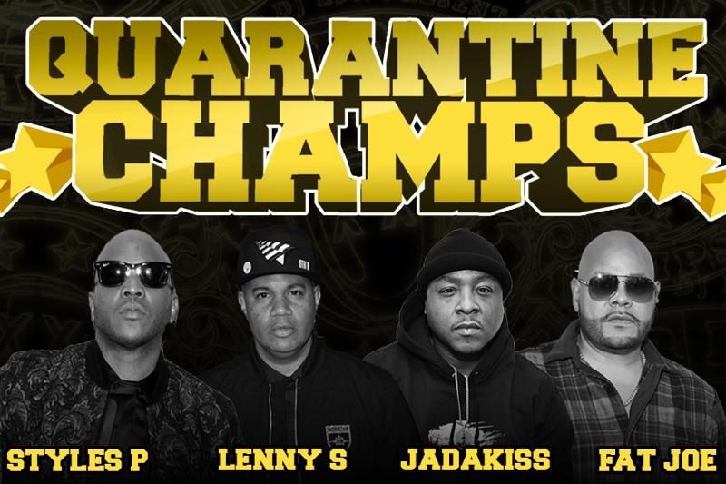Fat Joe, Lenny S., Jadakiss, and Styles P