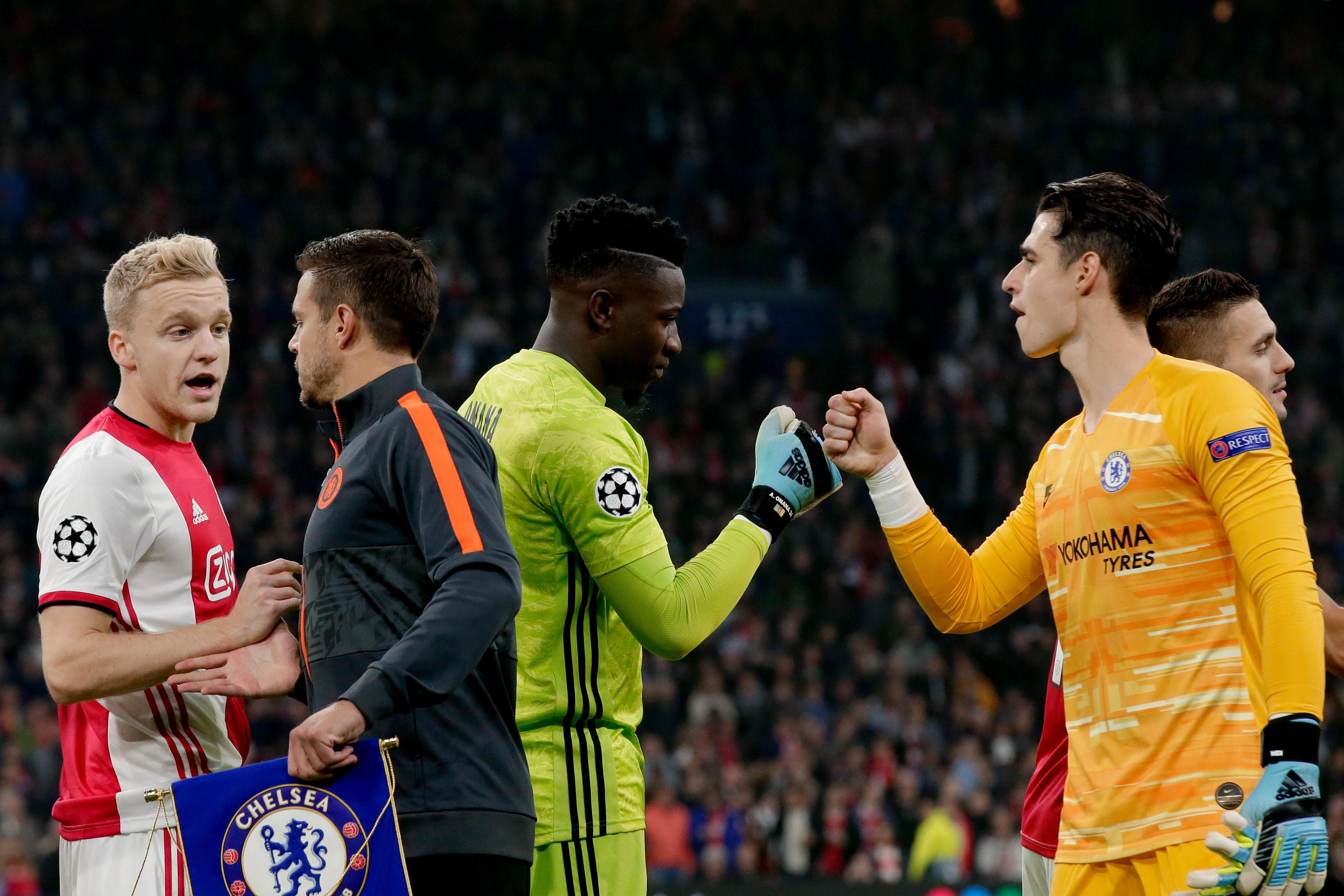 Ajax v Chelsea - UEFA Champions League