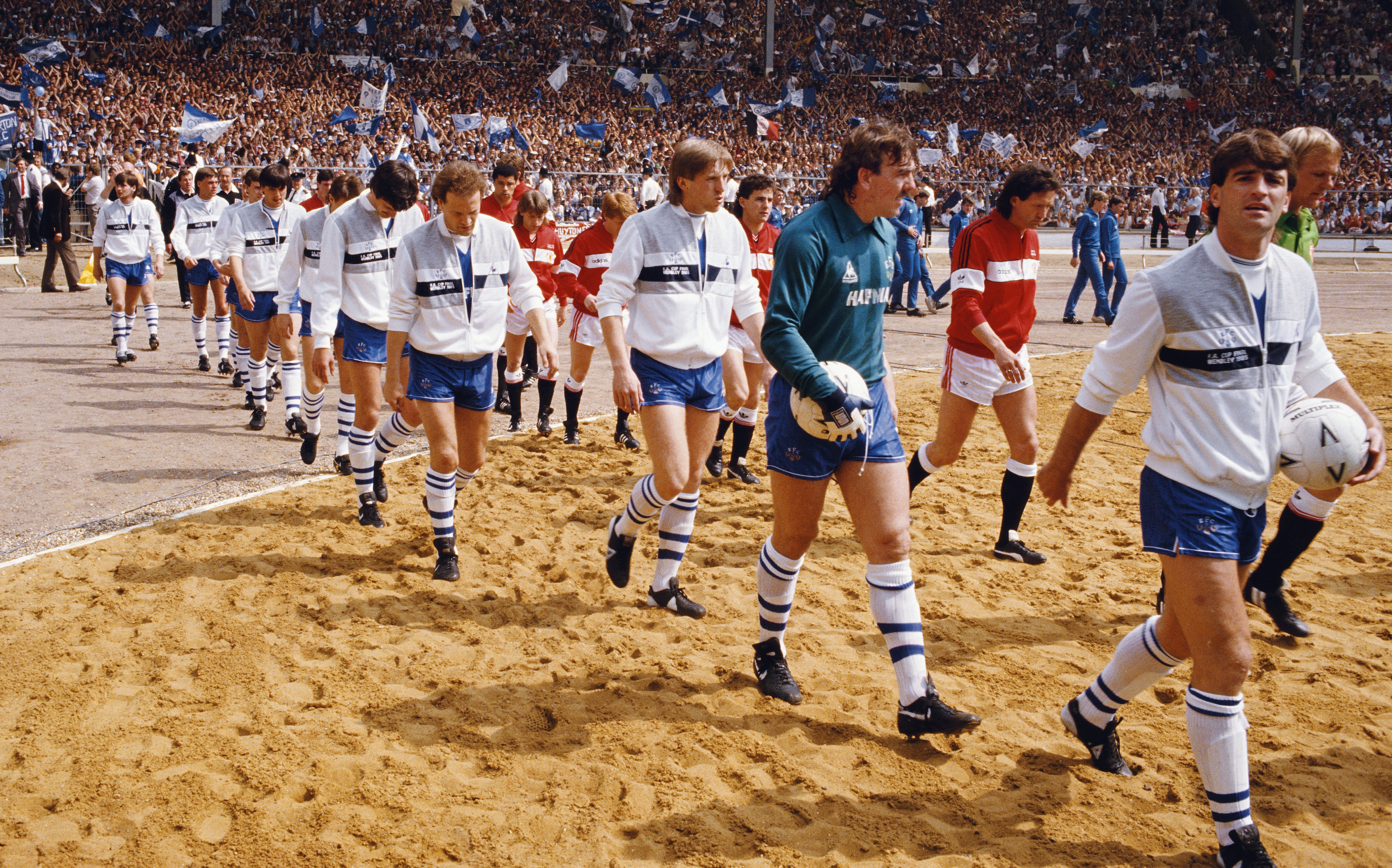 1985 FA Cup Final Manchester United v Everton