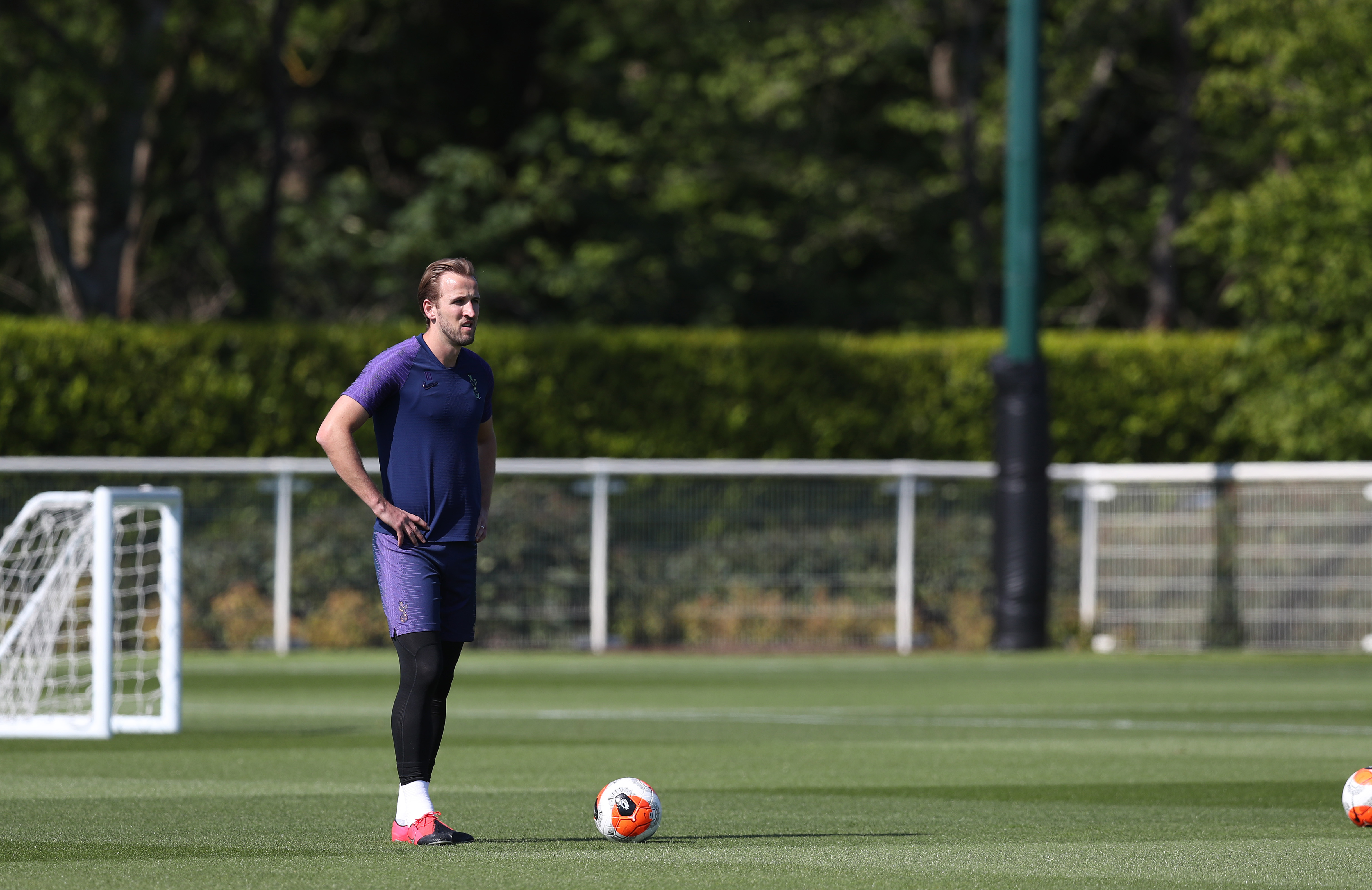 Tottenham Hotspur Return to Training Following the Relaxing of Covid-19 Restrictions