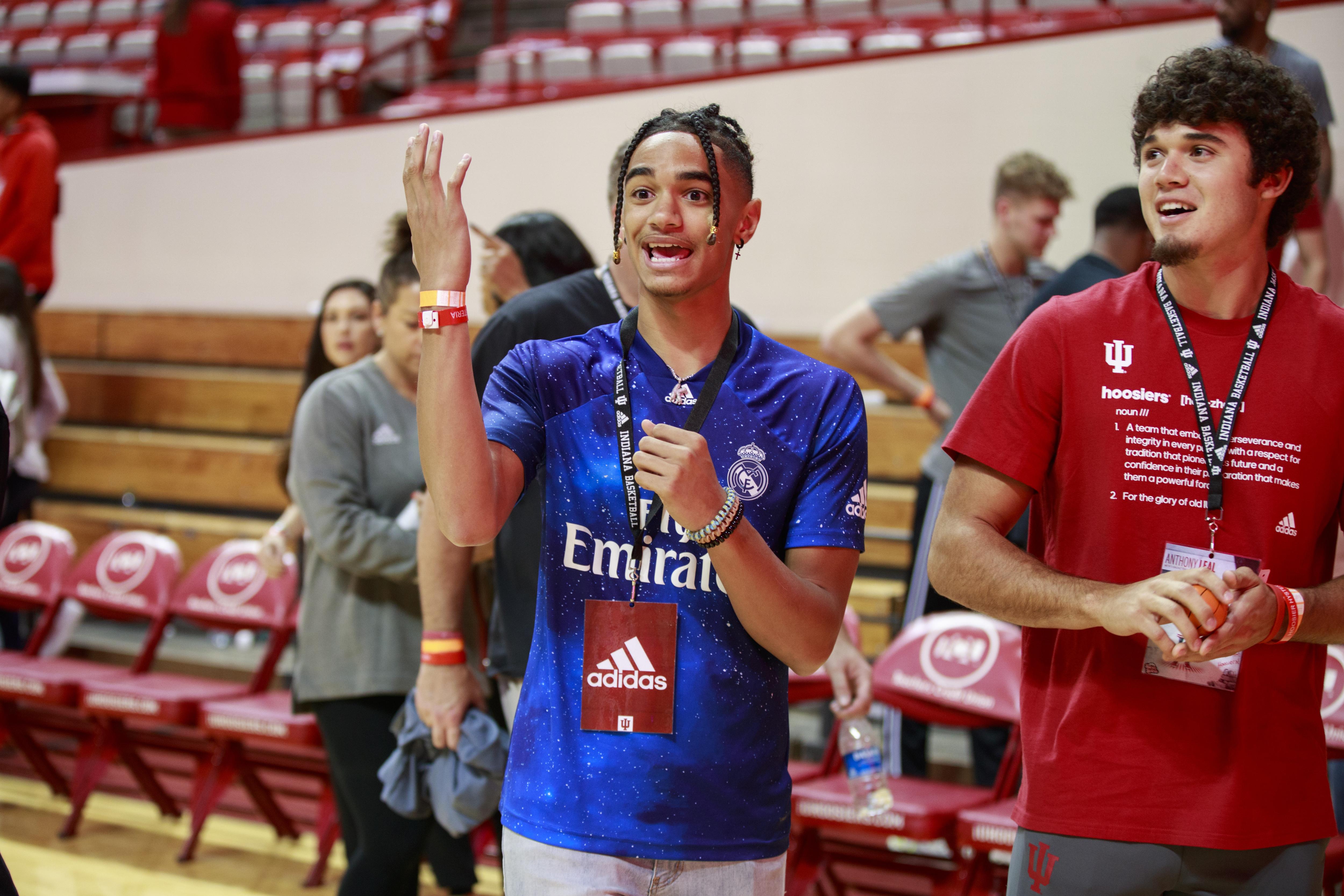 Indiana University basketball recruit, Khristian Lander...