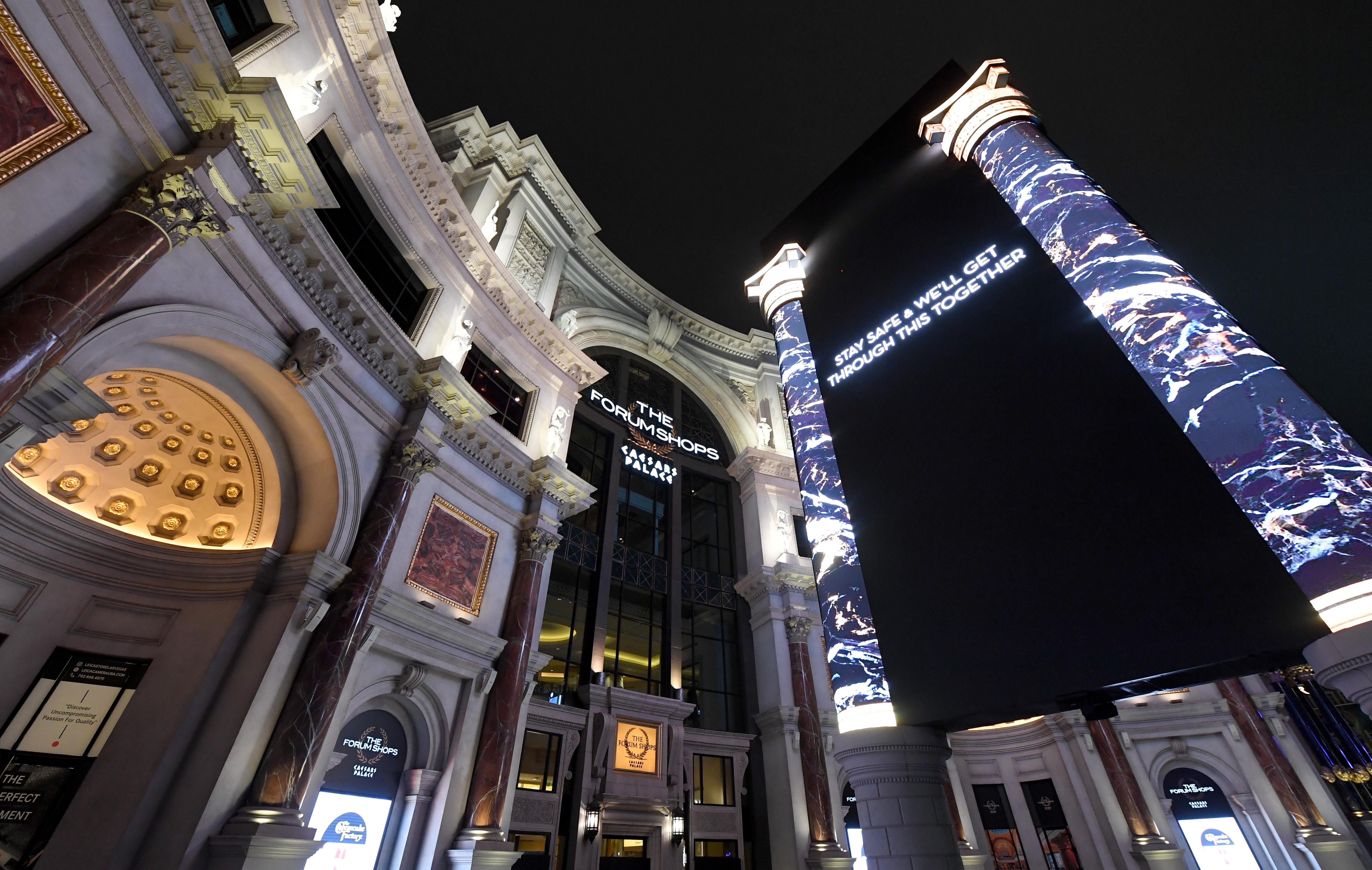 Las Vegas Casinos Close Their Doors In Response To Coronavirus Pandemic