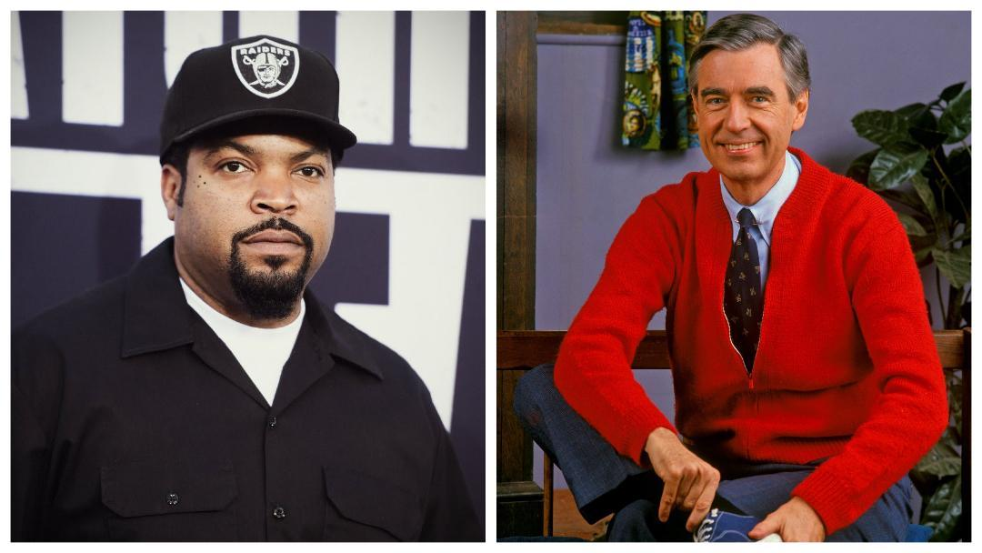 Ice Cube and Mr. Rogers