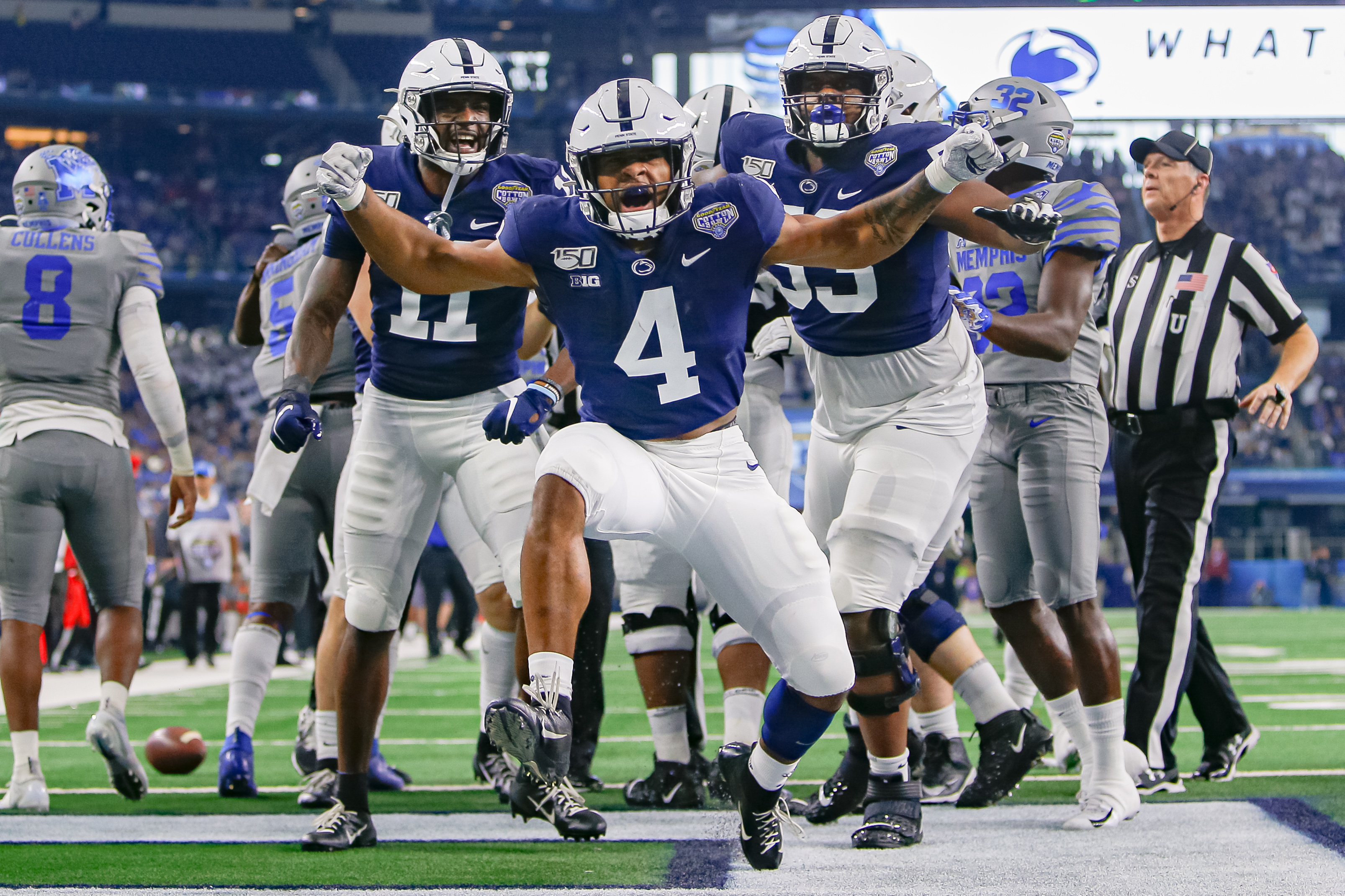 COLLEGE FOOTBALL: DEC 28 Cotton Bowl Classic - Memphis v Penn State