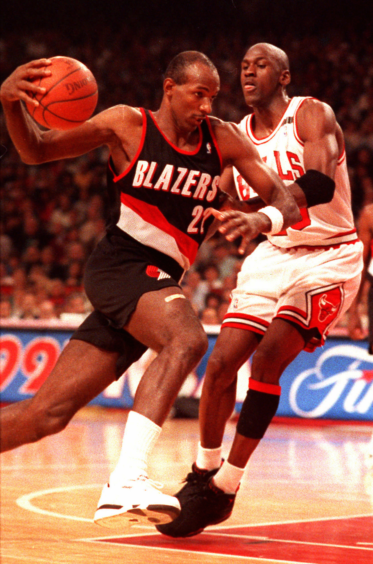 Had they become teammates in 1984, Clyde Drexler and Michael Jordan say they would have found a way to complement each other.