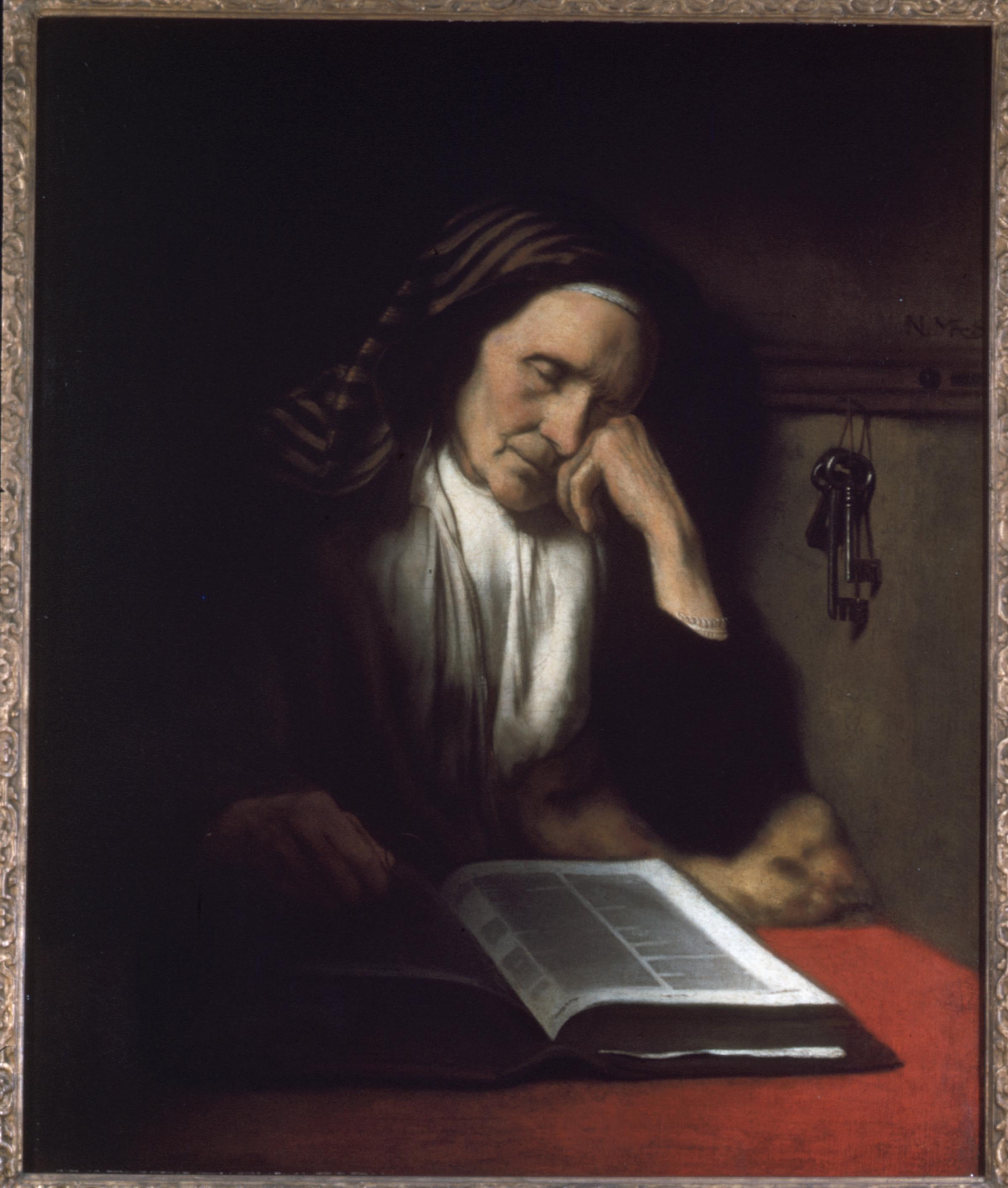Dozing Bible Reader
