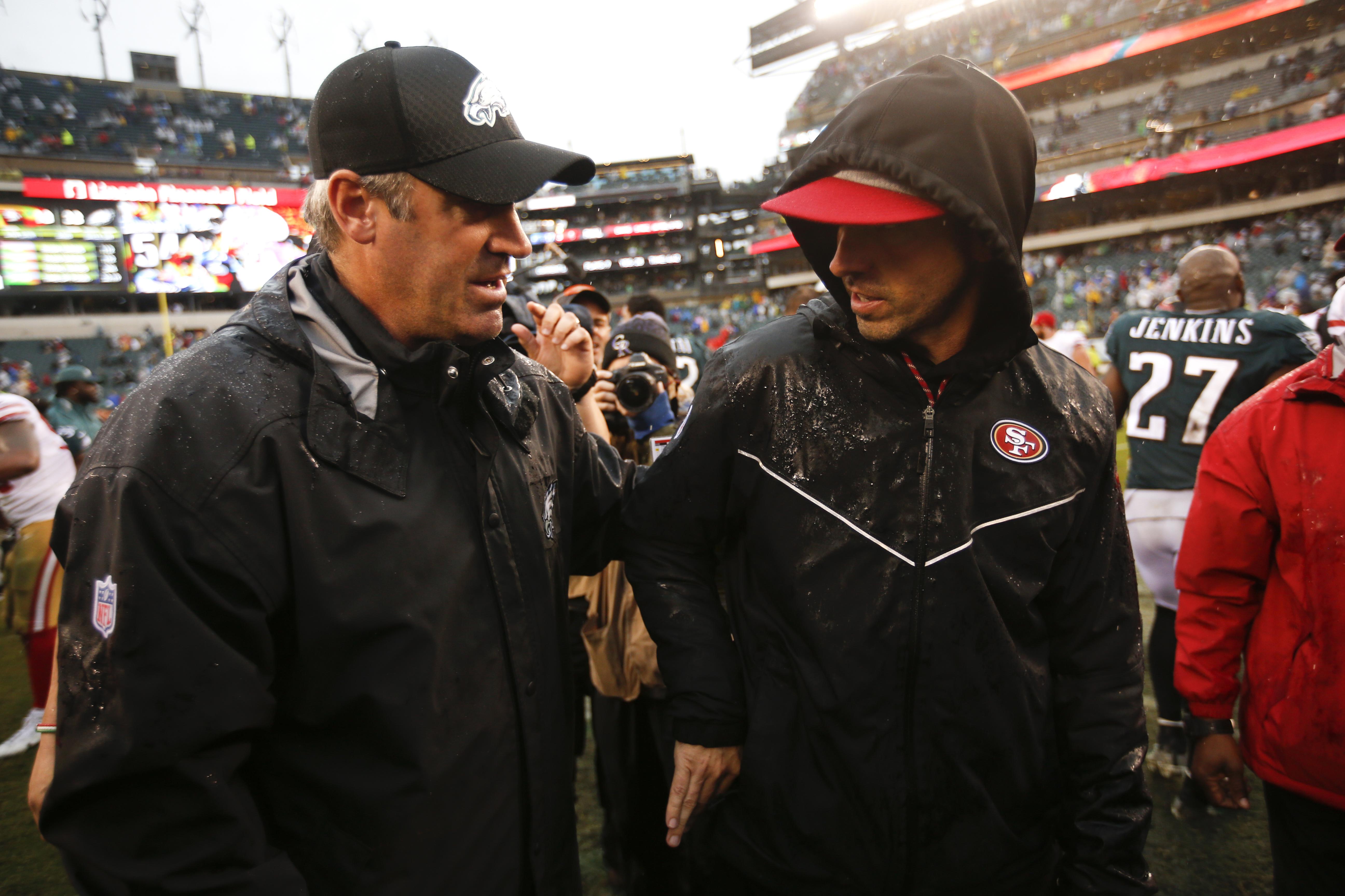 San Francisco 49ers v Philadelphia Eagles