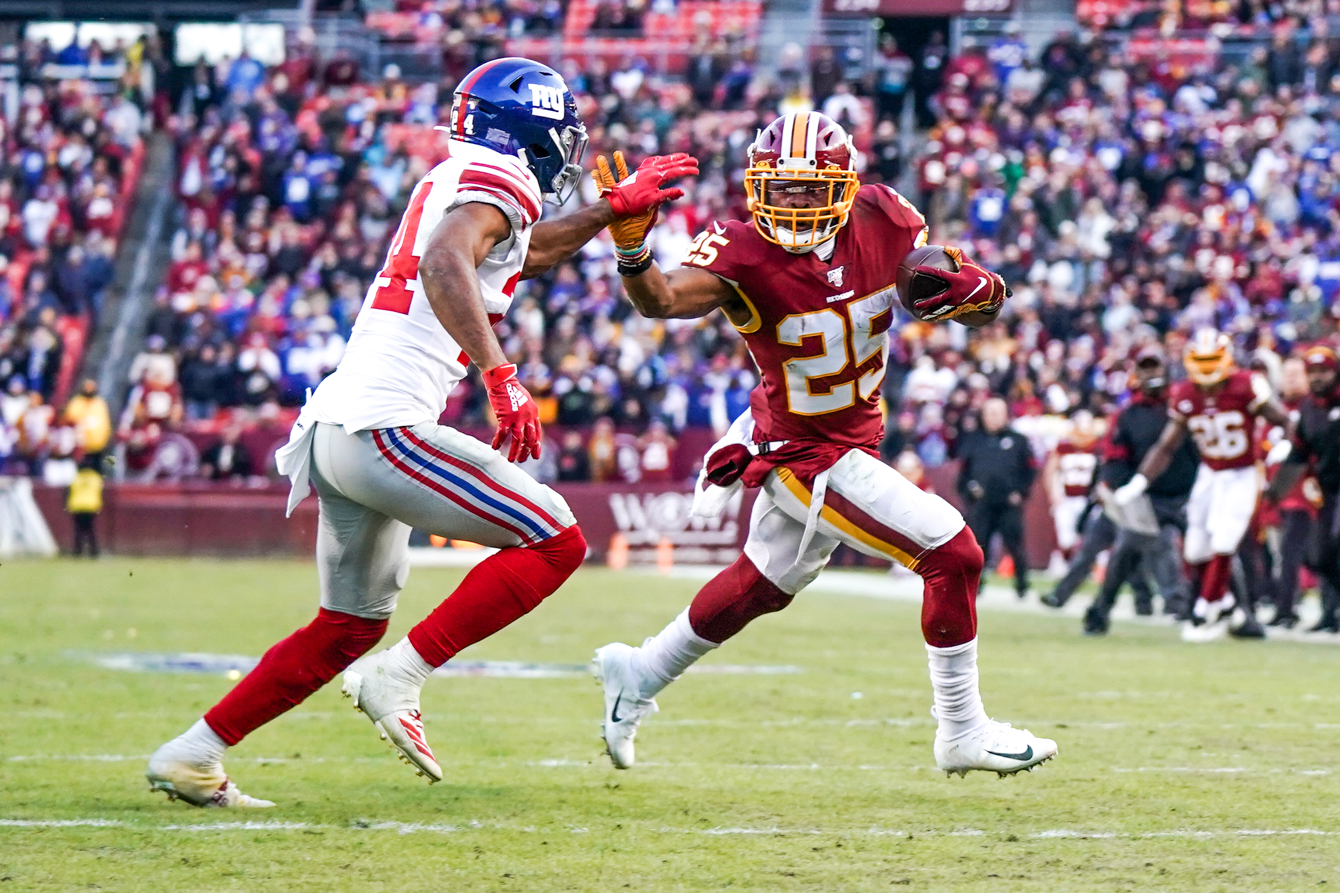 NFL: DEC 22 Giants at Redskins