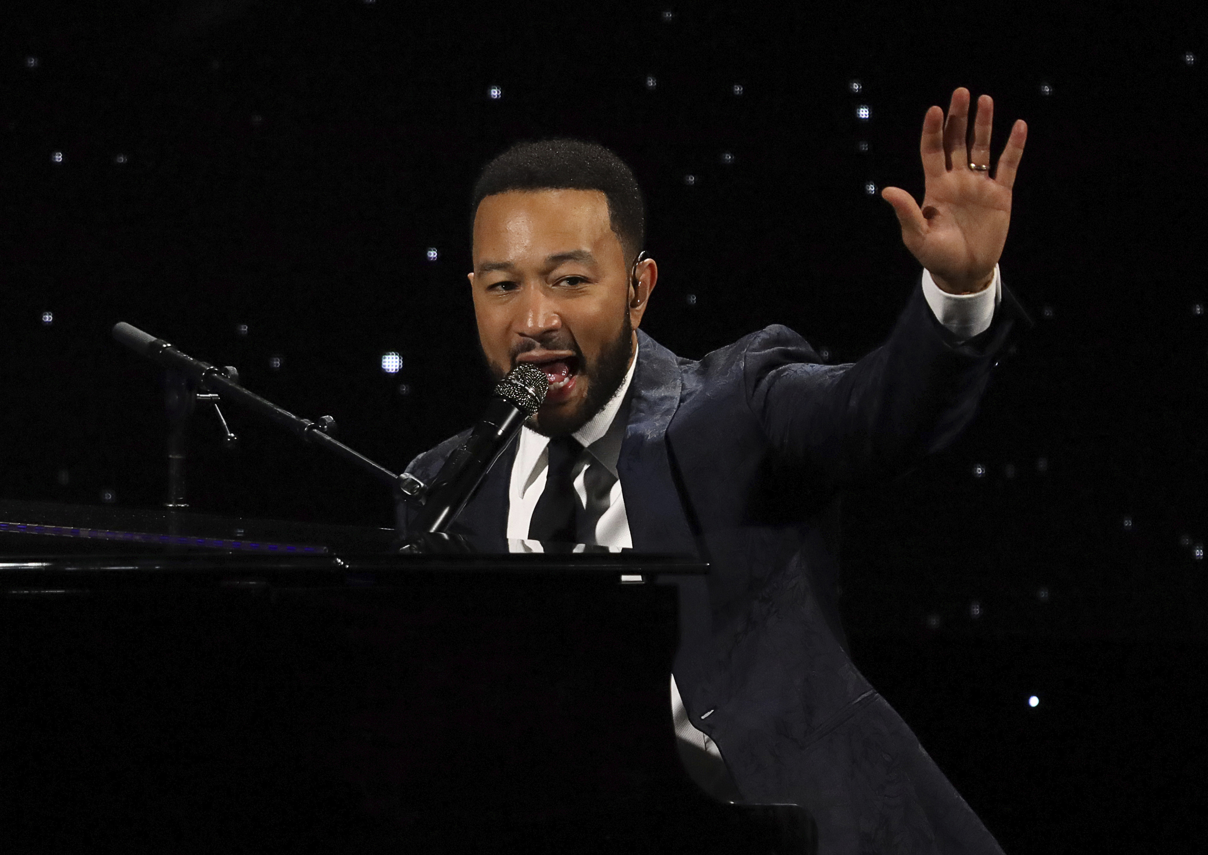 John Legend is among the lineup for this year's Red Nose Day TV special.