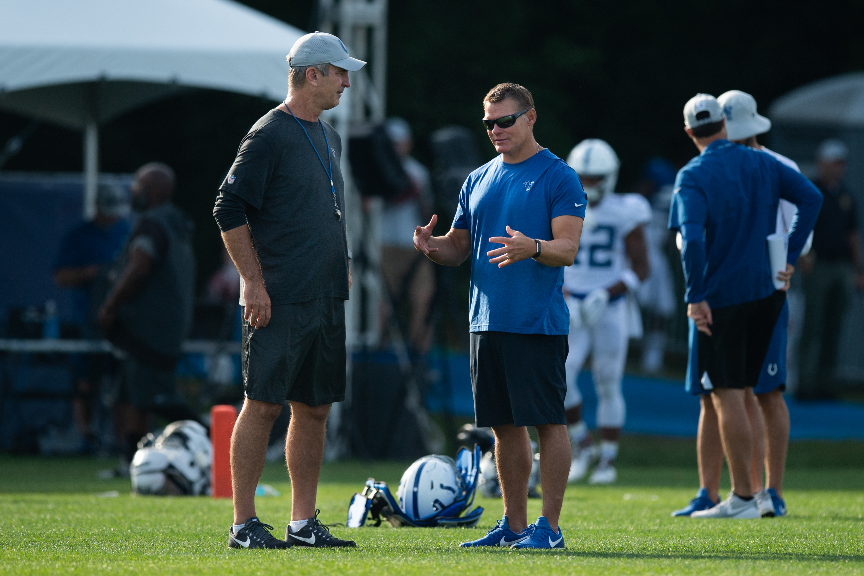 NFL: AUG 05 Colts Training Camp