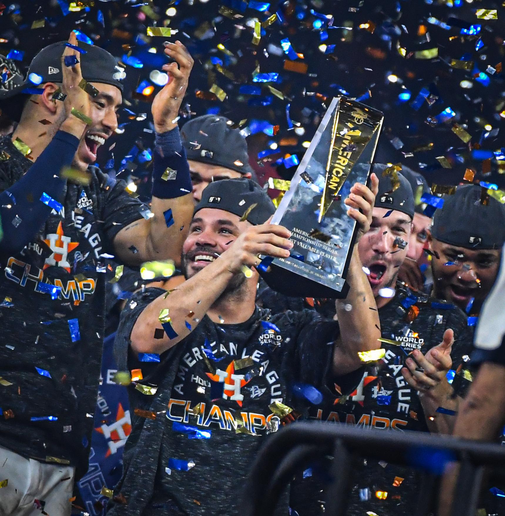 Houston Astros player Jose Altuve wins MVP trophy in 2019