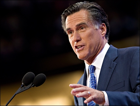 In the midst of the candidacies of Mitt Romney (shown) and Jon Huntsman Jr., the LDS Church has released a statement that reiterates its policy of no senior priesthood leader, including general authorities, mission presidents and temple presidents, from involving the church in candidate campaigning. Media reports have been rampant since the statement's release.