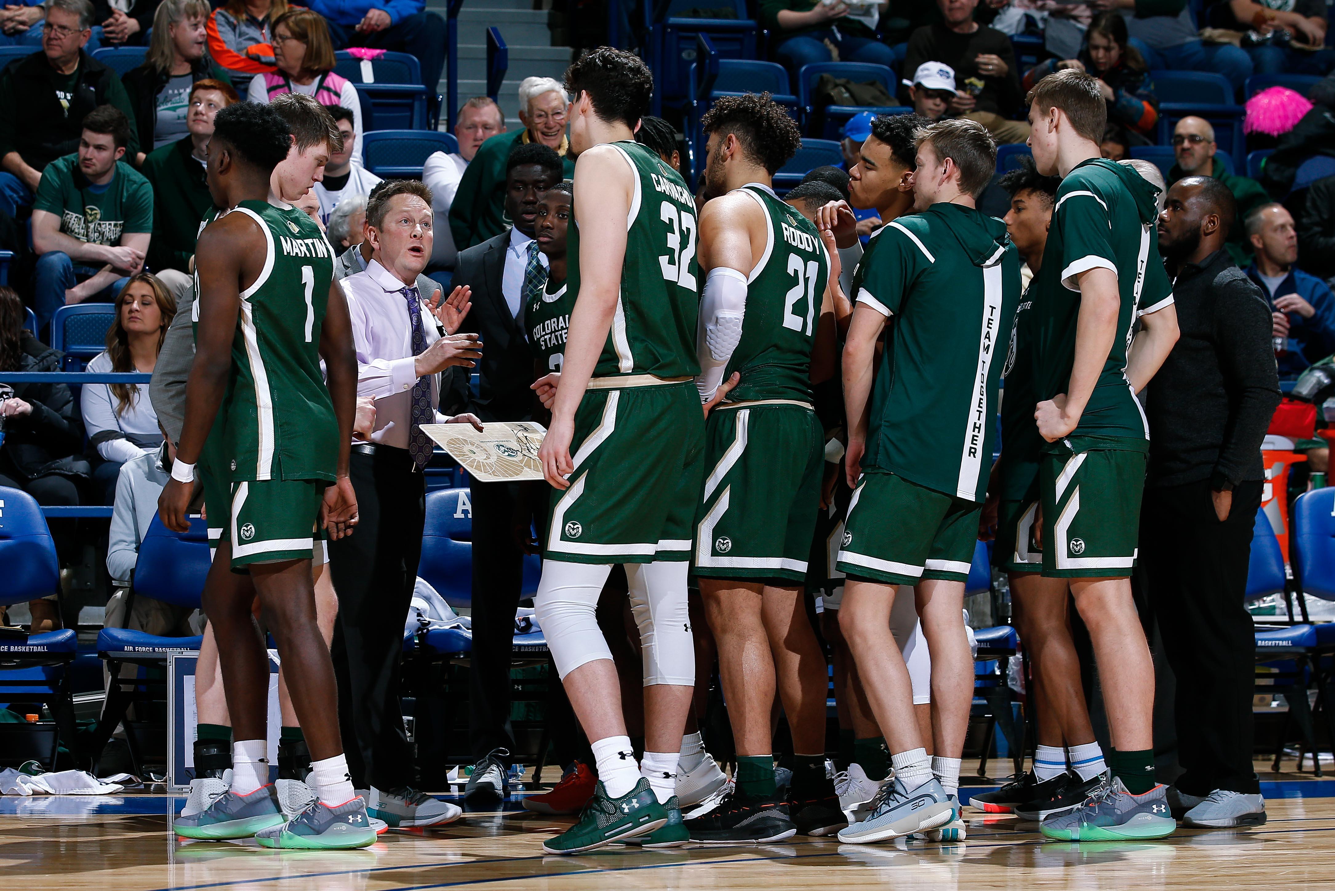 NCAA Basketball: Colorado State at Air Force