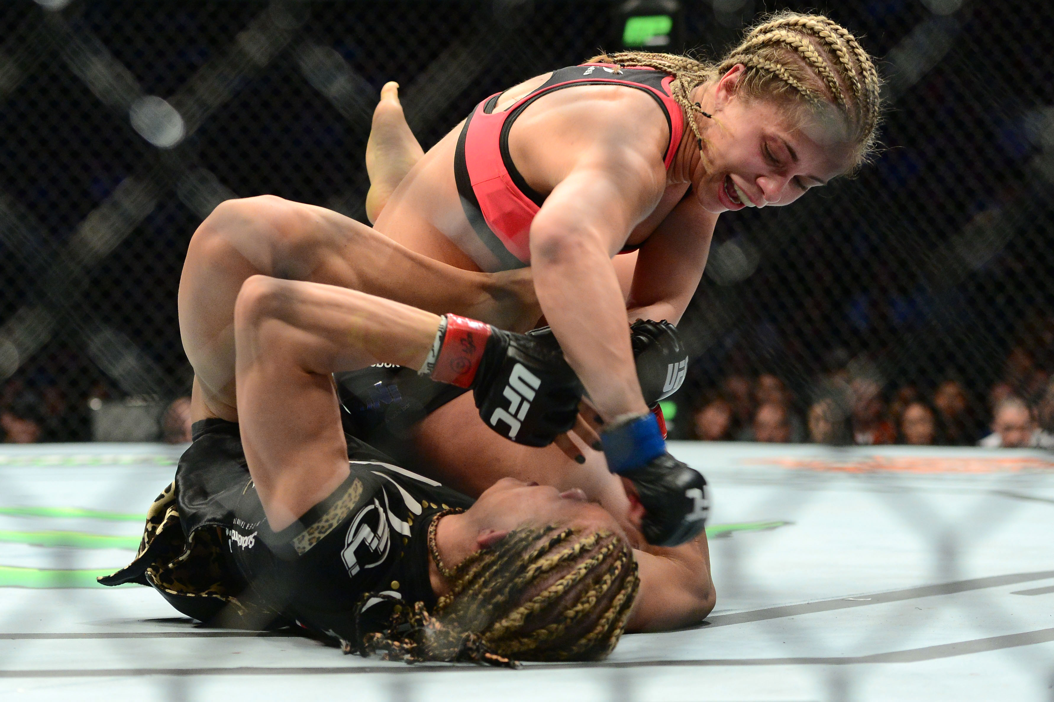 Paige VanZant picked up a big win over Felice Herrig at UFC on FOX 15 on Saturday.
