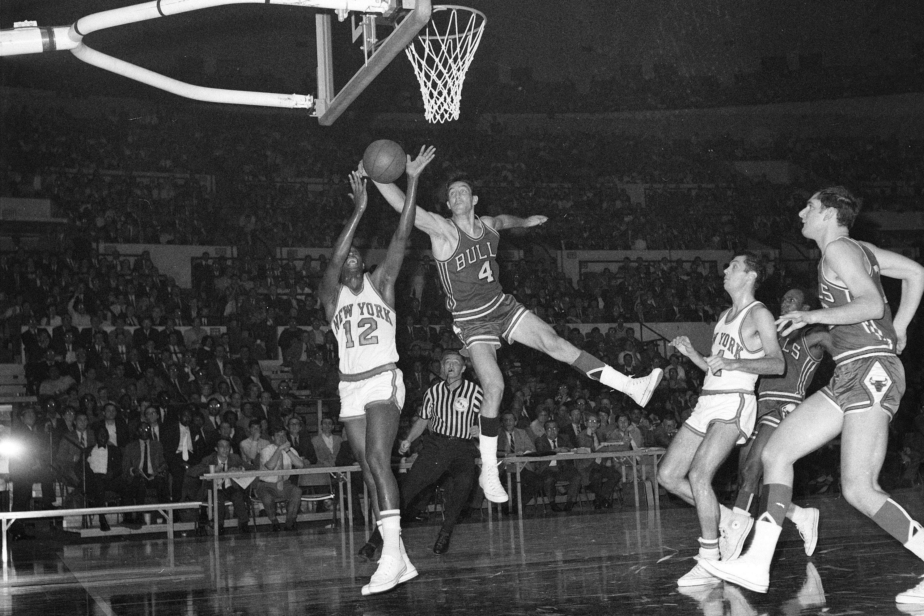 """""""Jerry Sloan was 'The Original Bull' whose tenacious defense and nightly hustle on the court represented the franchise and epitomized the city of Chicago,'' Bulls board chairman Jerry Reinsdorf said."""