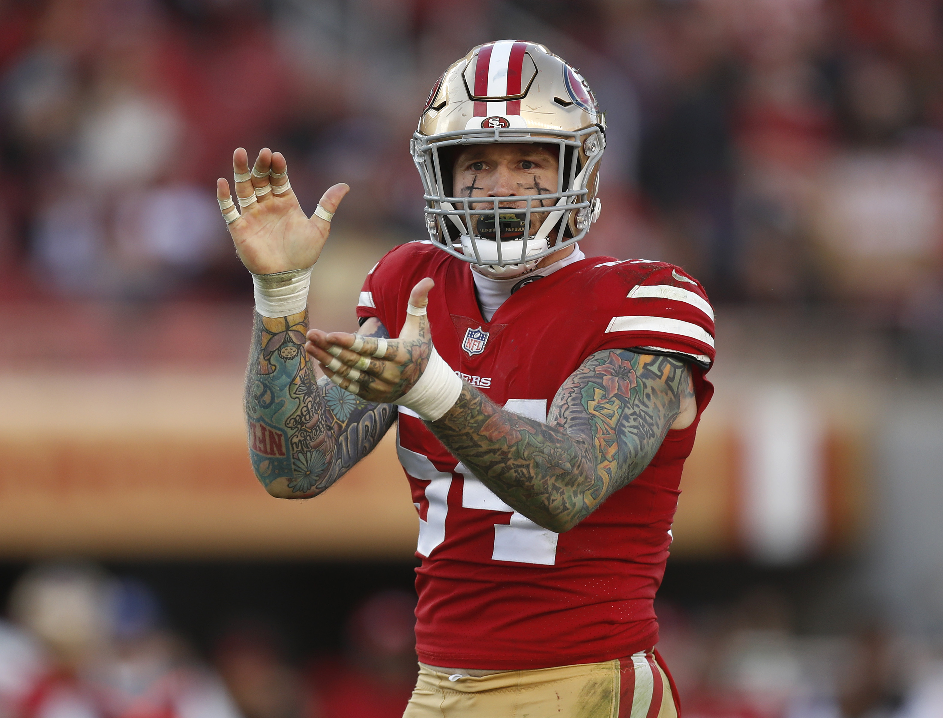 San Francisco 49ers versus Chicago Bears