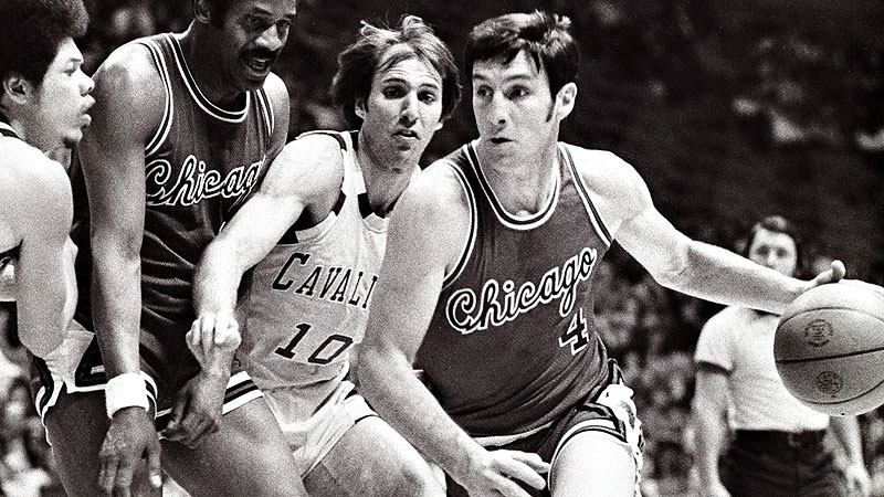 Jerry Sloan was known for his hustle during his Bulls' career, but he averaged 18.3 points a game in 1970-71.