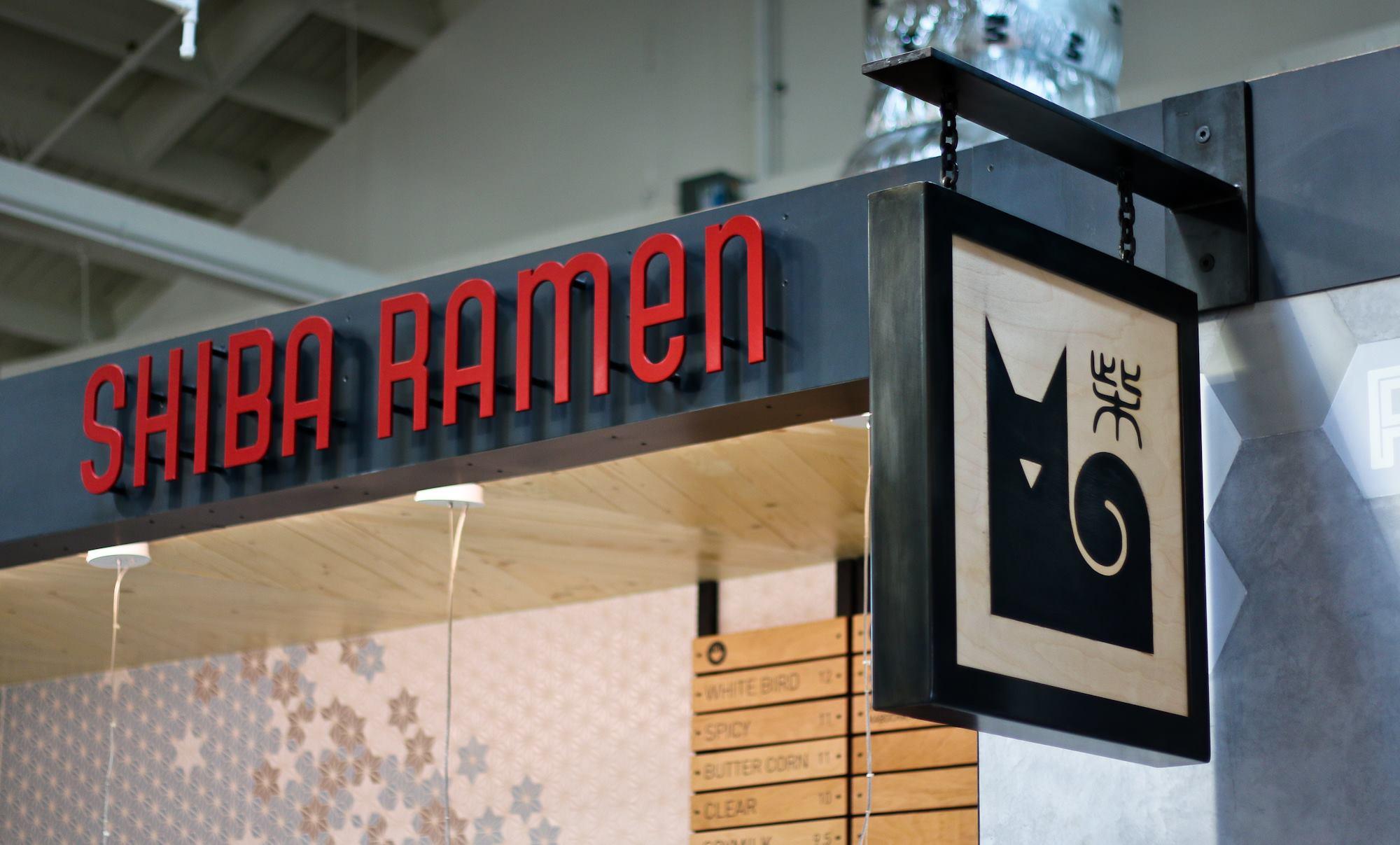 Shiba Ramen's Emeryville kiosk
