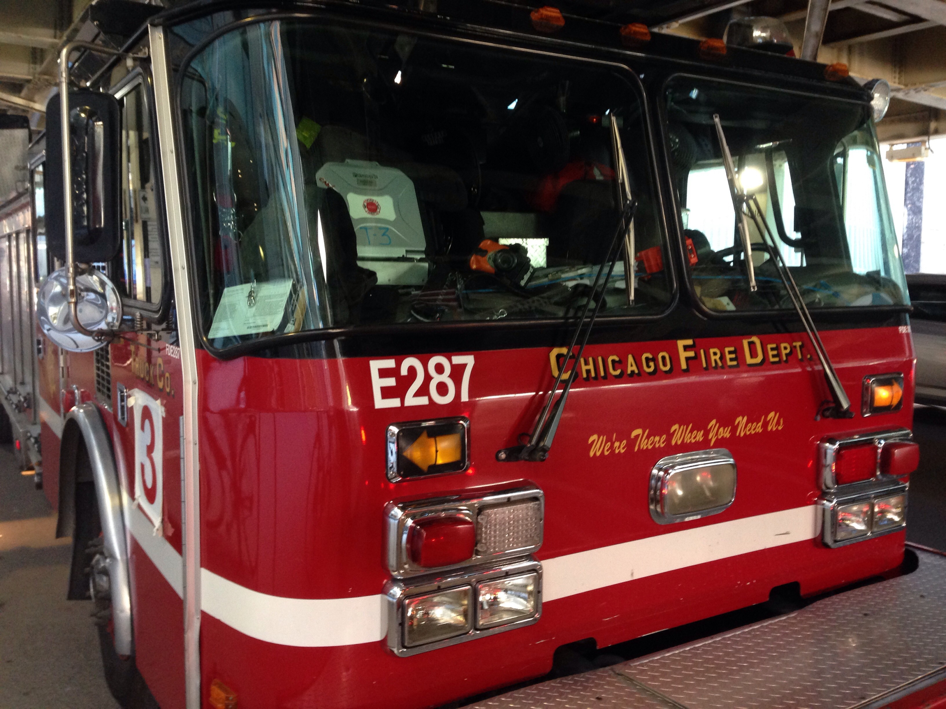 One person was found dead in a burning coach house May 23, 2020, in the 2100 block of West Potomac Avenue in Wicker Park.