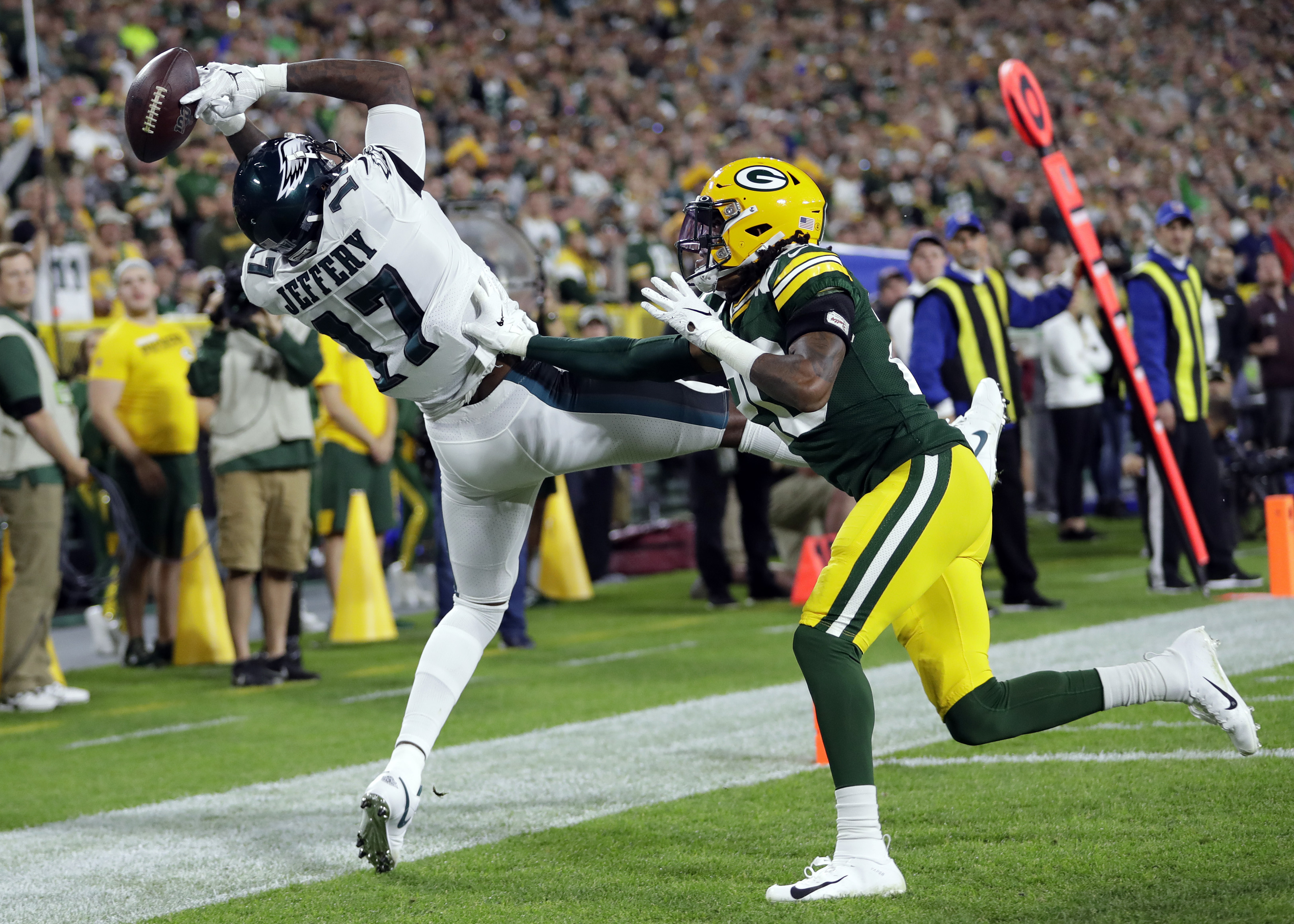 NFL: Philadelphia Eagles at Green Bay Packers