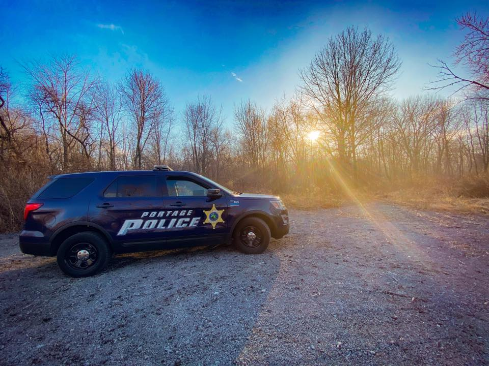 A Crestwood police officer has been charged with attacking his wife and children May 17, 2020, at a campground in Portage, Indiana.