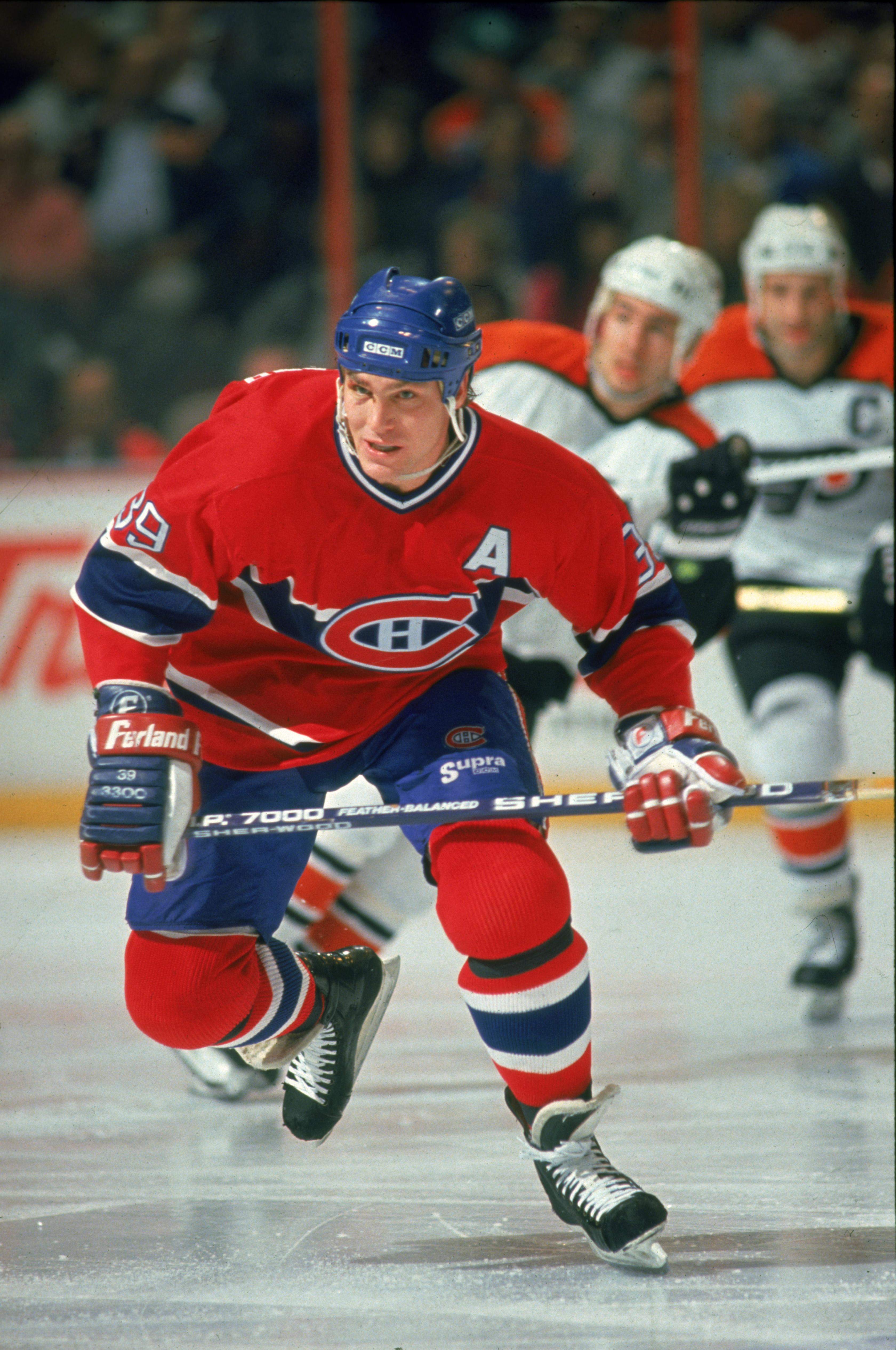 Brian Skrudland On The Ice