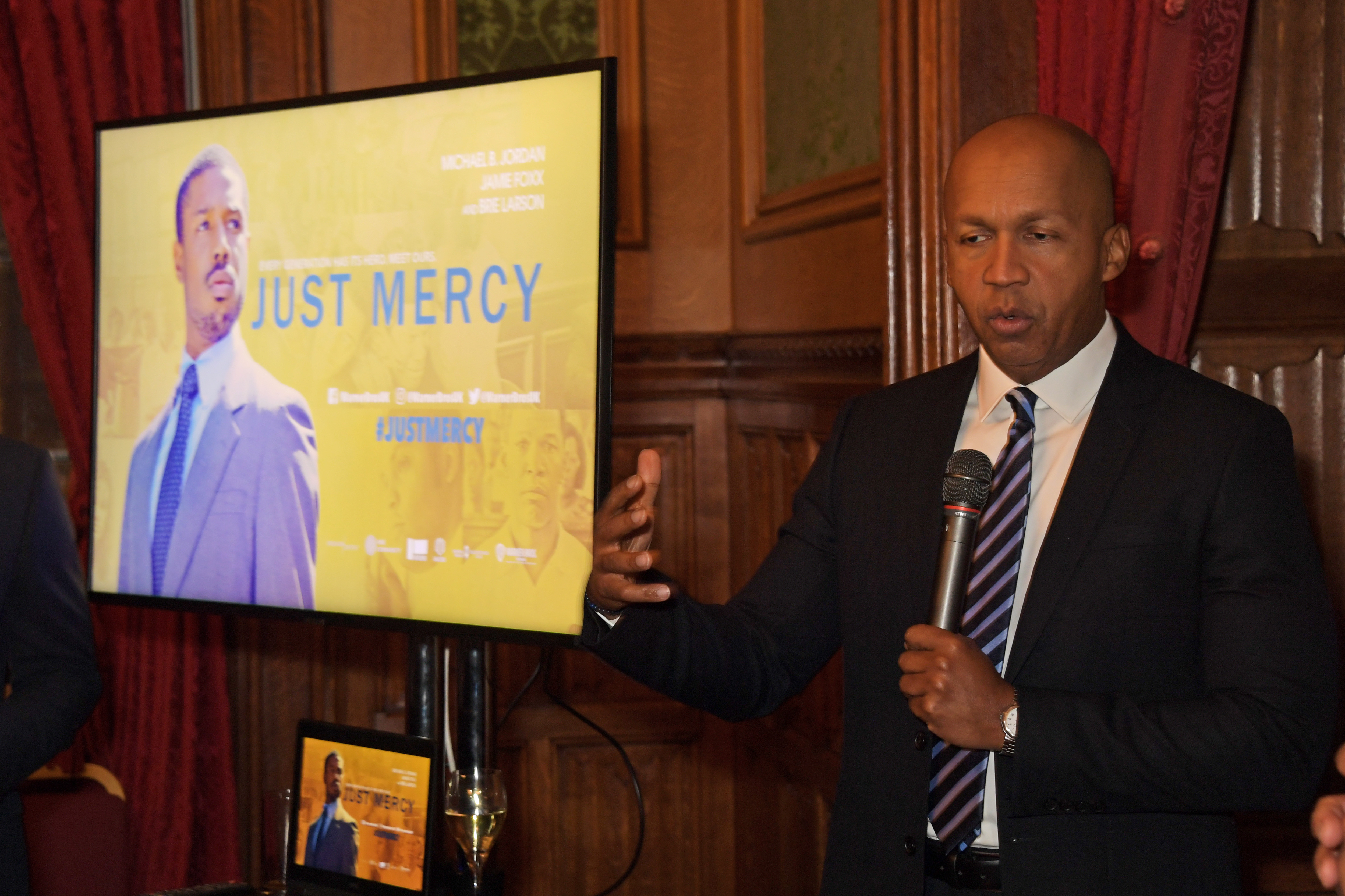 """An Evening At The House Of Lords For """"Just Mercy"""""""