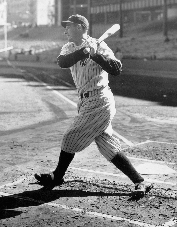 Tony Lazzeri, heavy-hitting second baseman of the New York Y