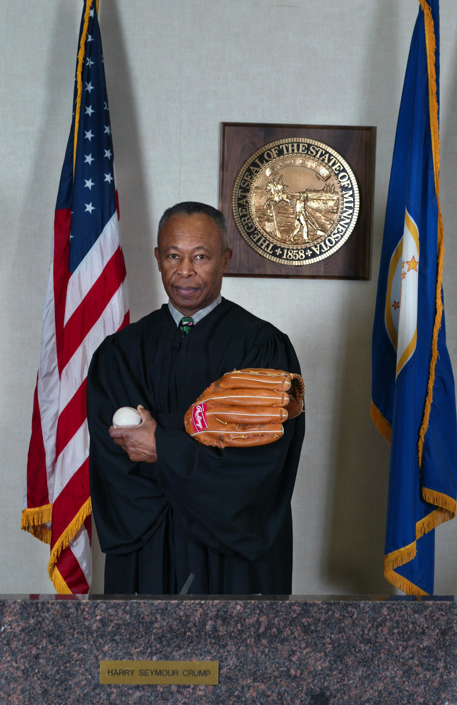 Hennepin County District Judge Harry Crump saved major league baseball in the Twin Cities this year when he ruled that the Minnesota Twins were a community asset and could not be contracted. The ruling survived the state appeals court and resulted in the
