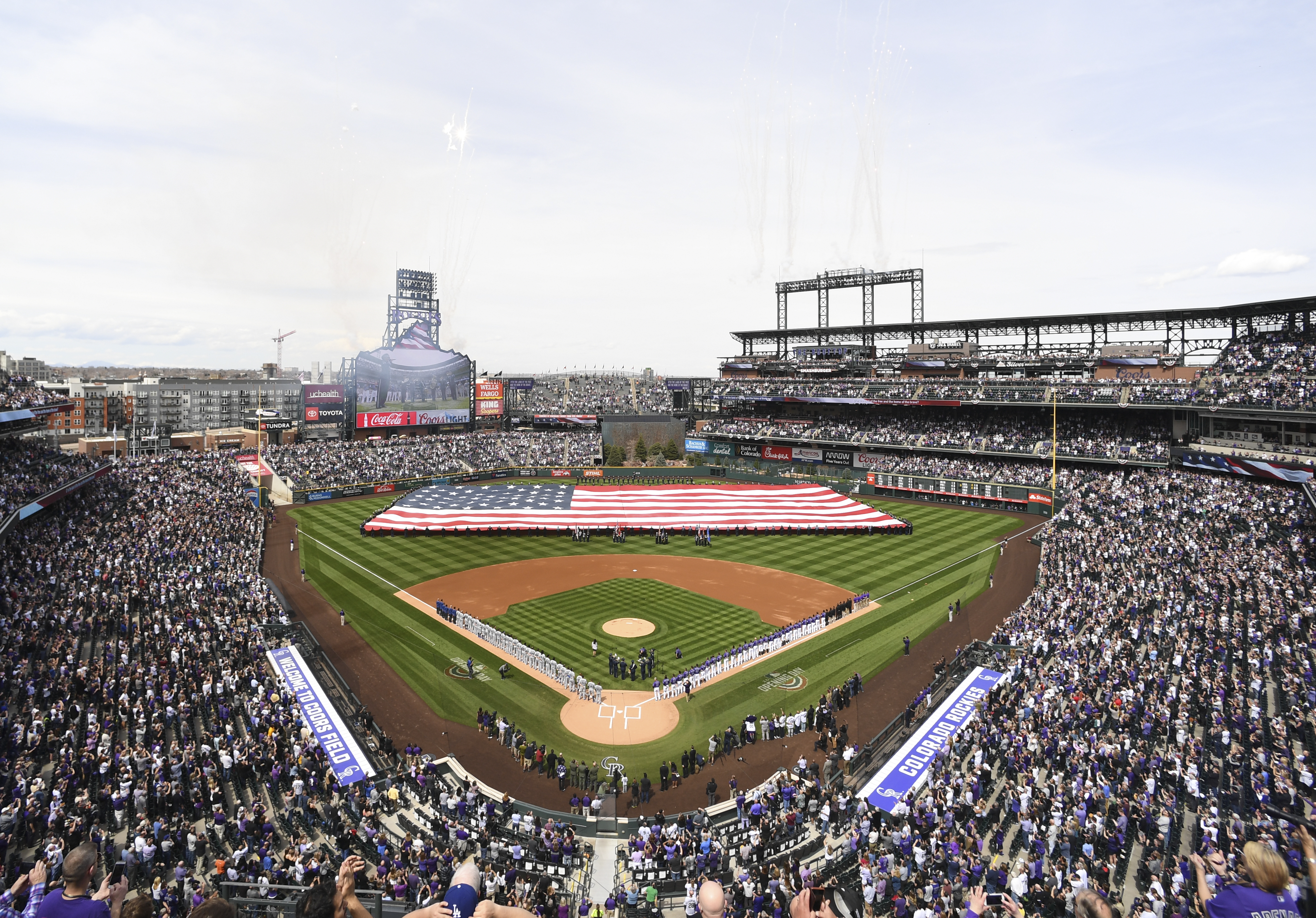 Colorado Rockies Opening Day