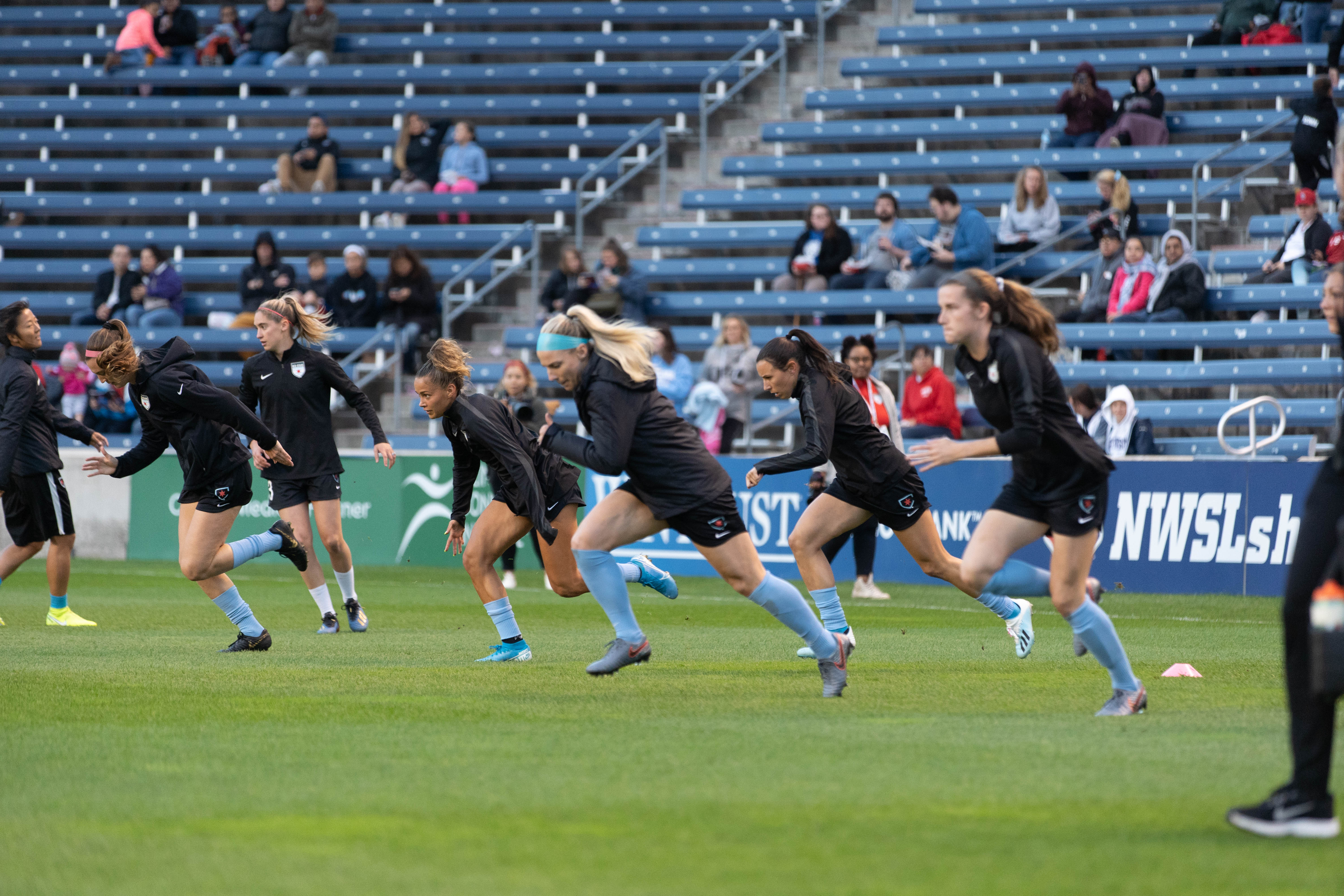 The NWSL plans to begin full team training on May 30.