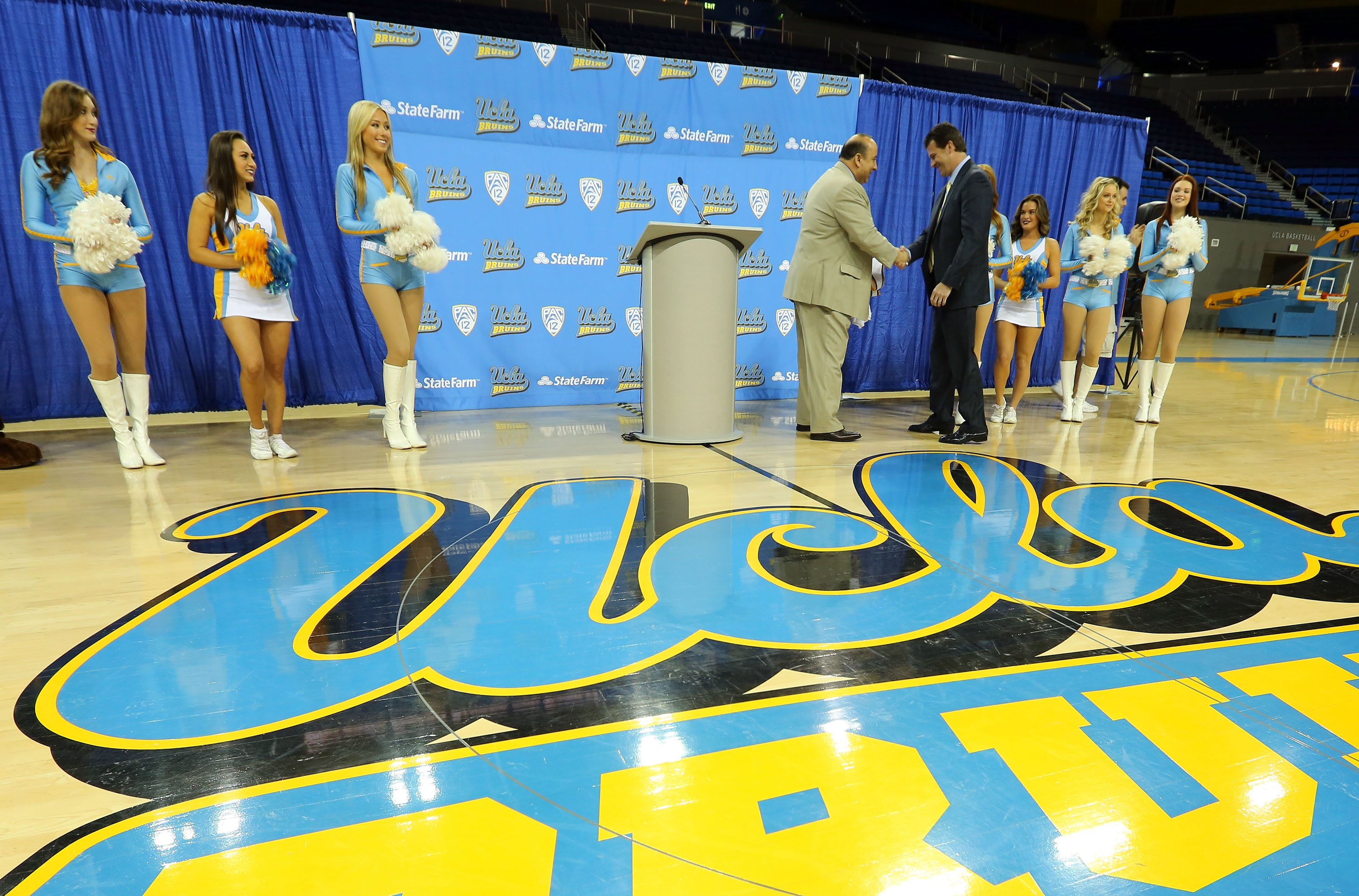 UCLA Introduces Steve Alford
