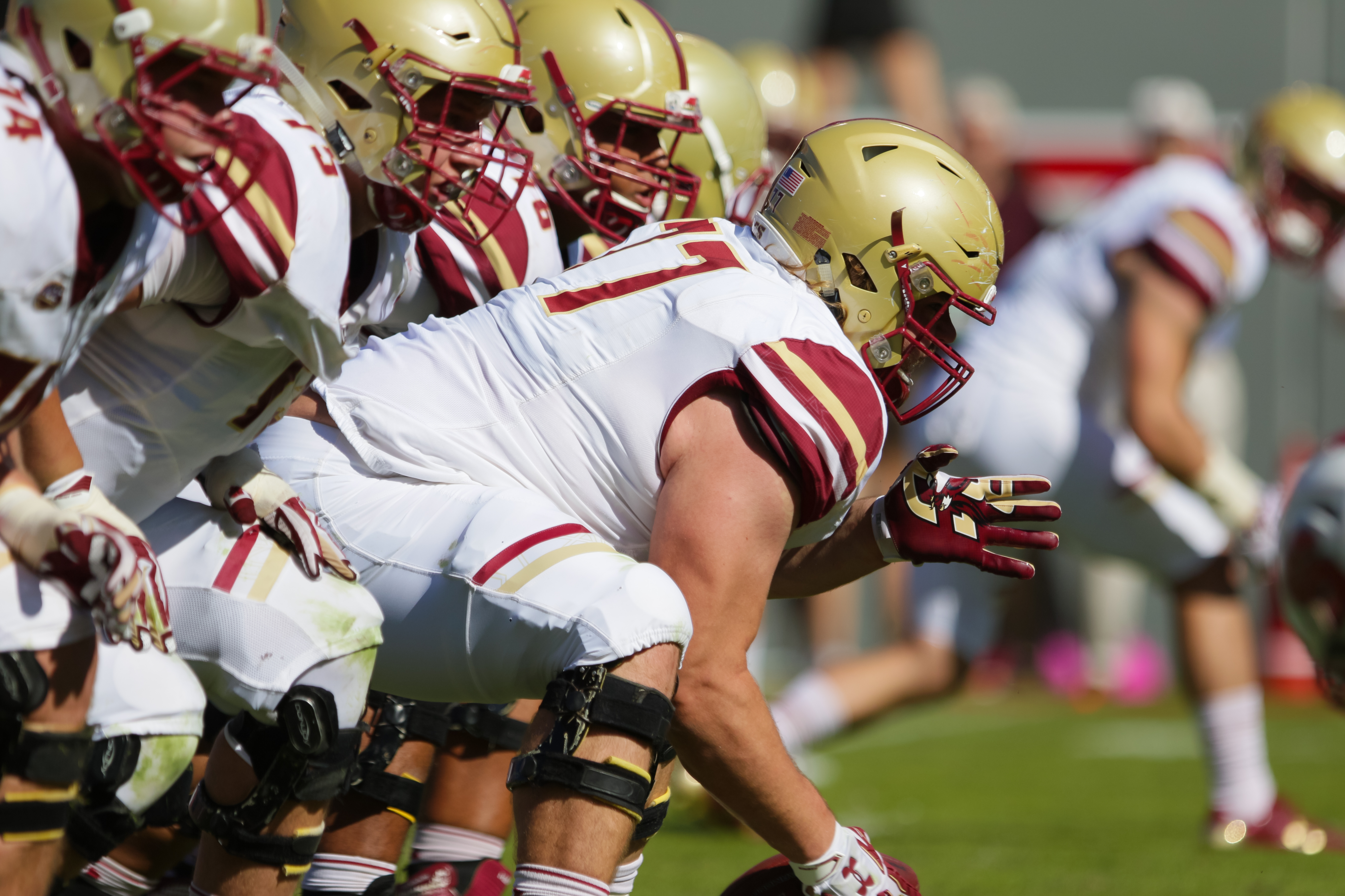 NCAA FOOTBALL: OCT 29 Boston College at NC State