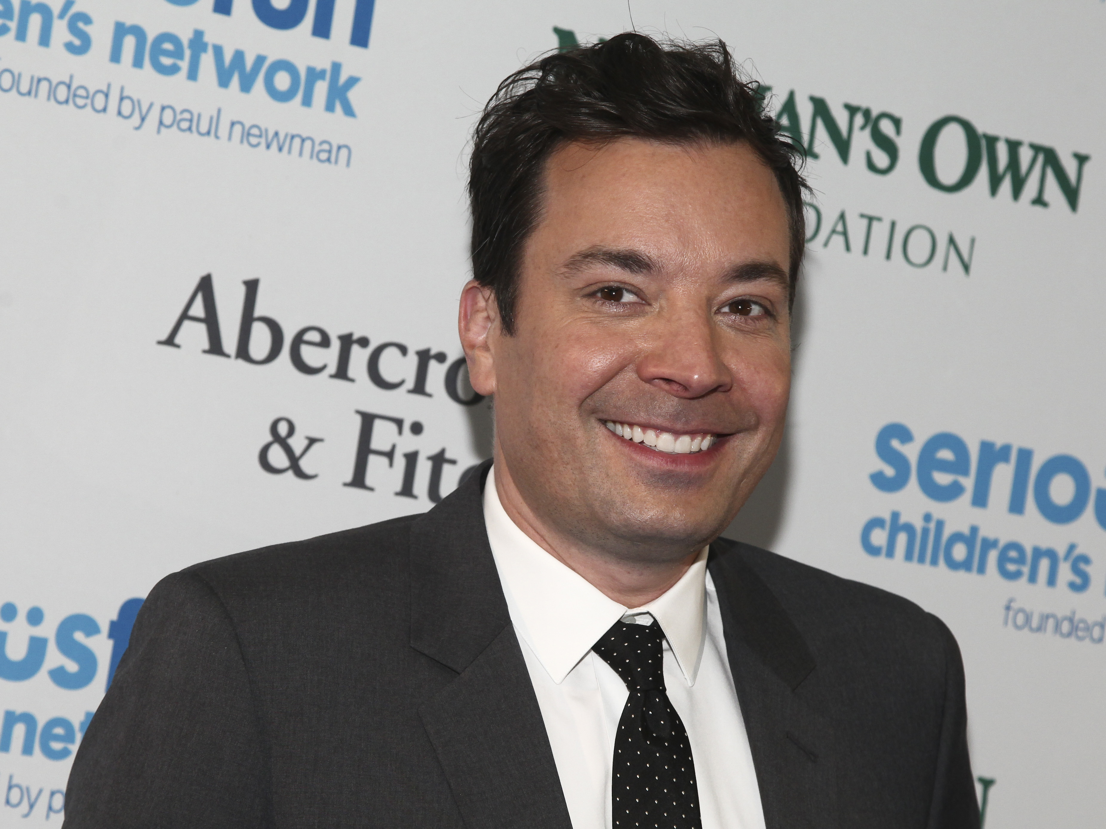 Jimmy Fallon attends the SeriousFun Children's Network Gala at Pier Sixty in New York in 2017.