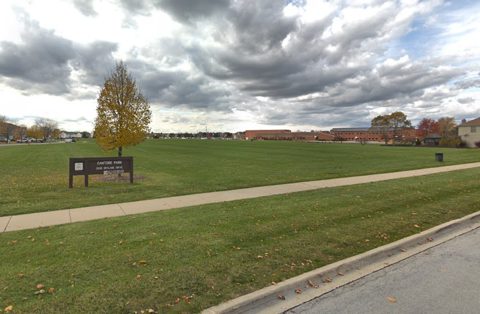 A park in Naperville was vandalized with racist messages