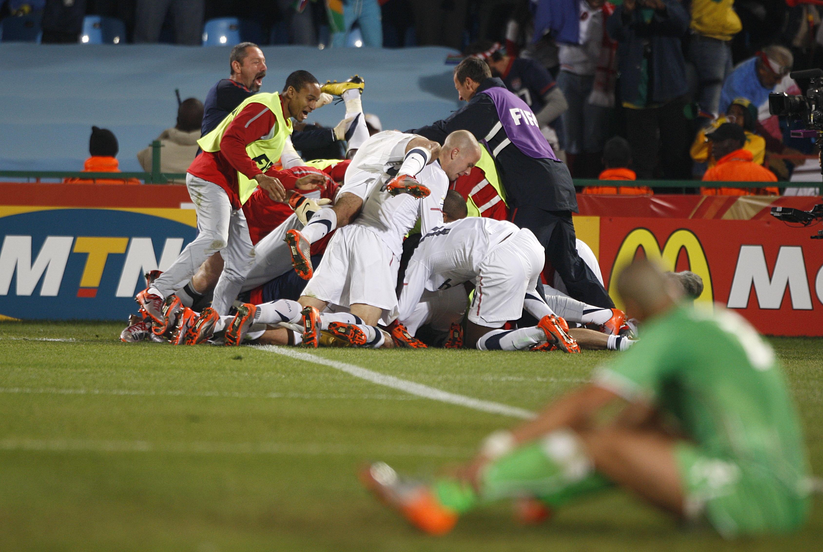 Soccer - 2010 FIFA World Cup South Africa - Group C - USA v Algeria - Loftus Versfeld Stadium