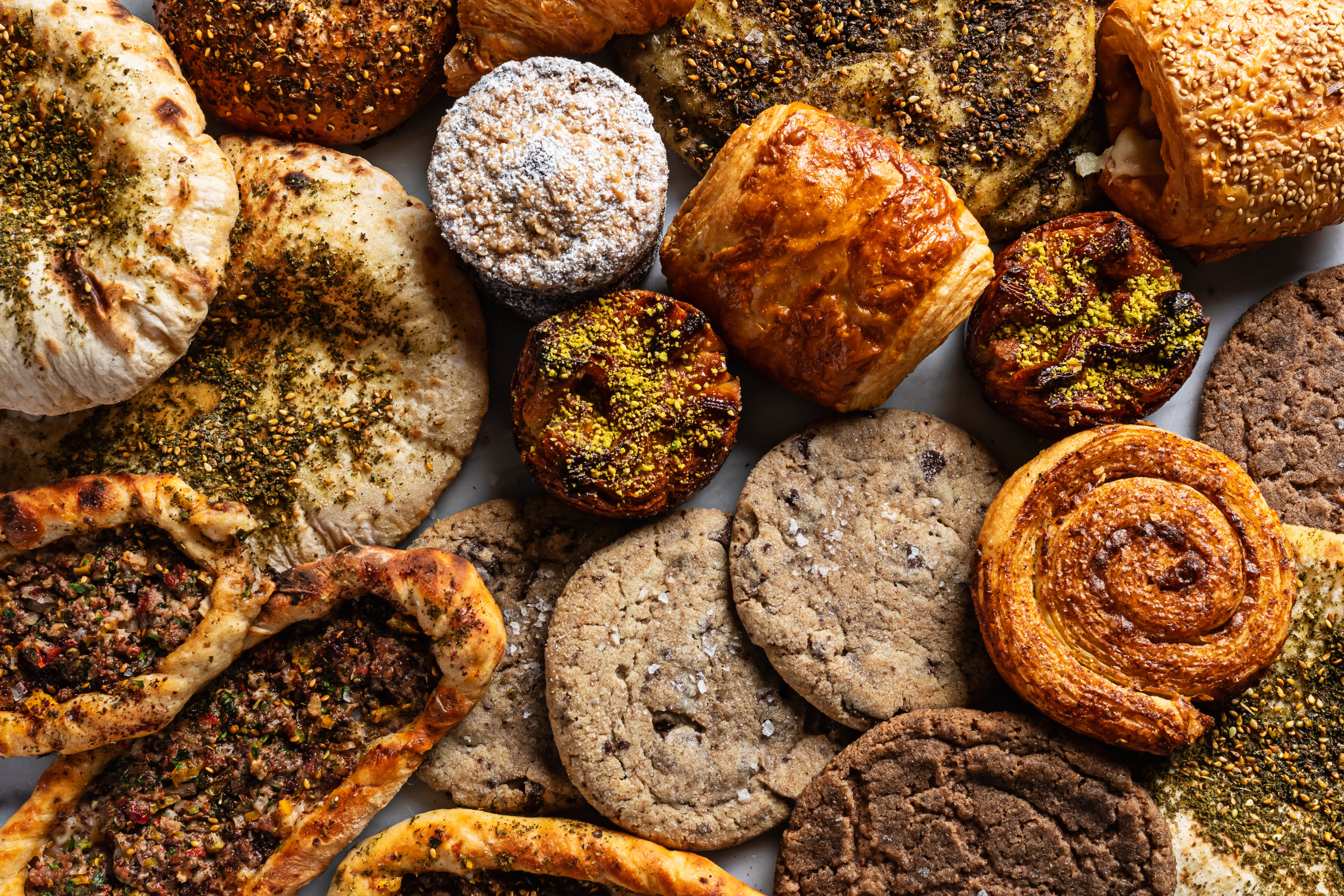 Yellow in Navy Yard combines French baking techniques with Middle Eastern ingredients