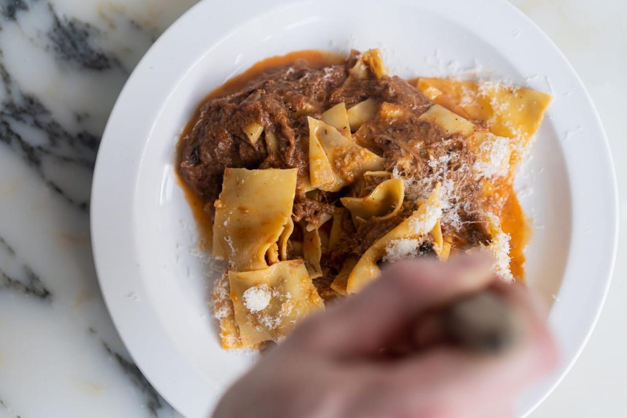 Padella's beef shin pappardelle