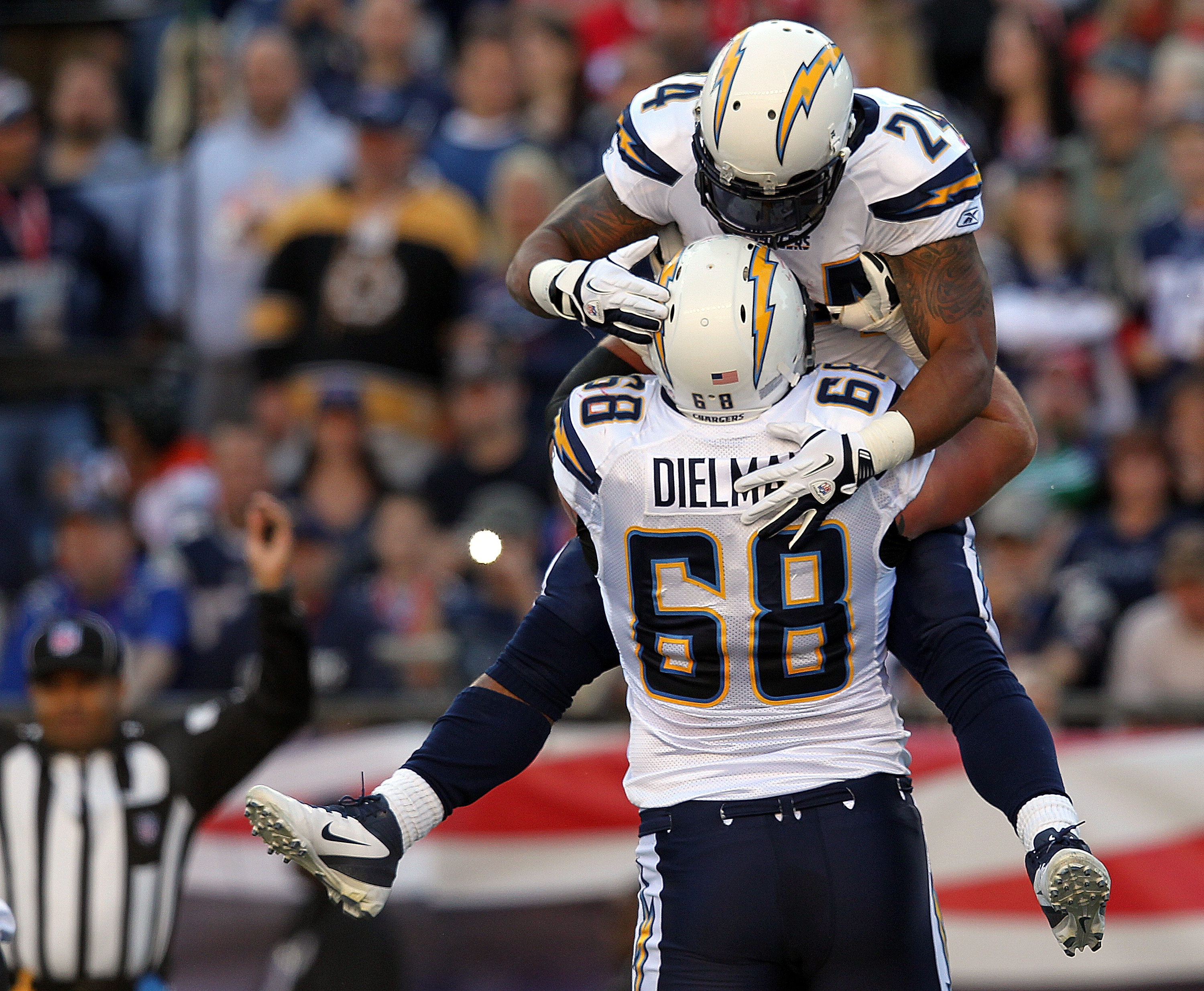 San Diego Chargers v New England Patriots