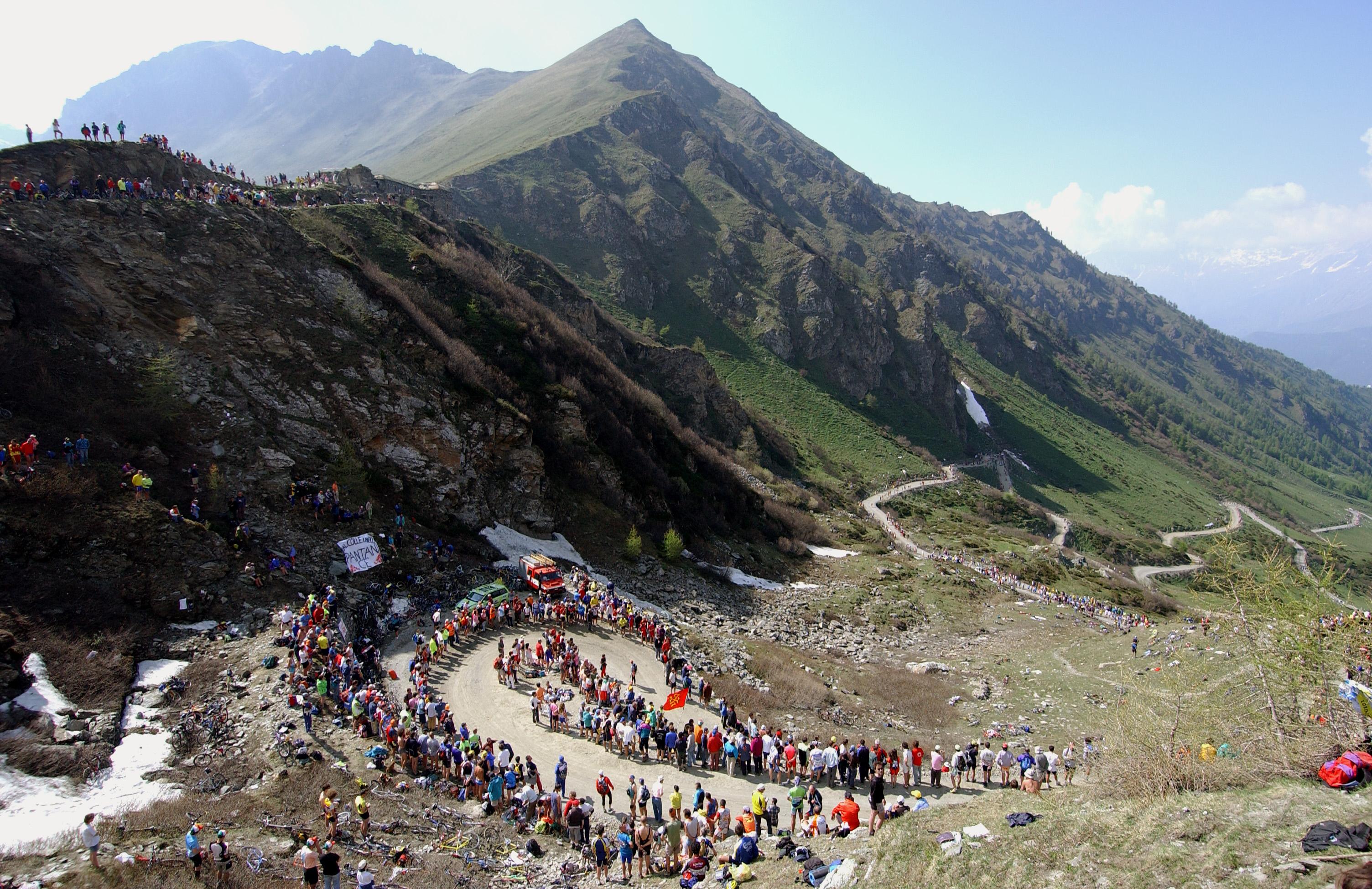 Cycling: Giro D'Italia / Tour Of Italy Stage 19