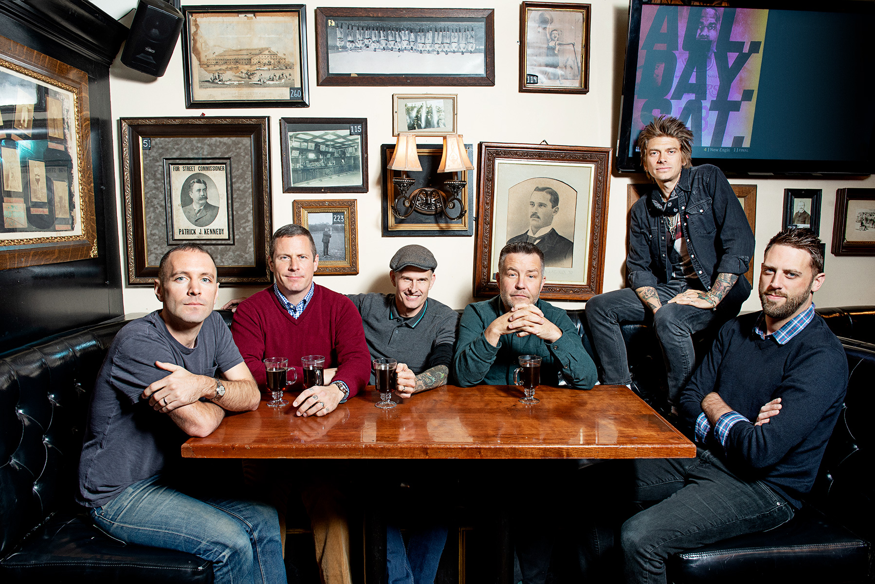 The Dropkick Murphys (pictured) will be joined by Bruce Springsteen for a free online concert on May 29.