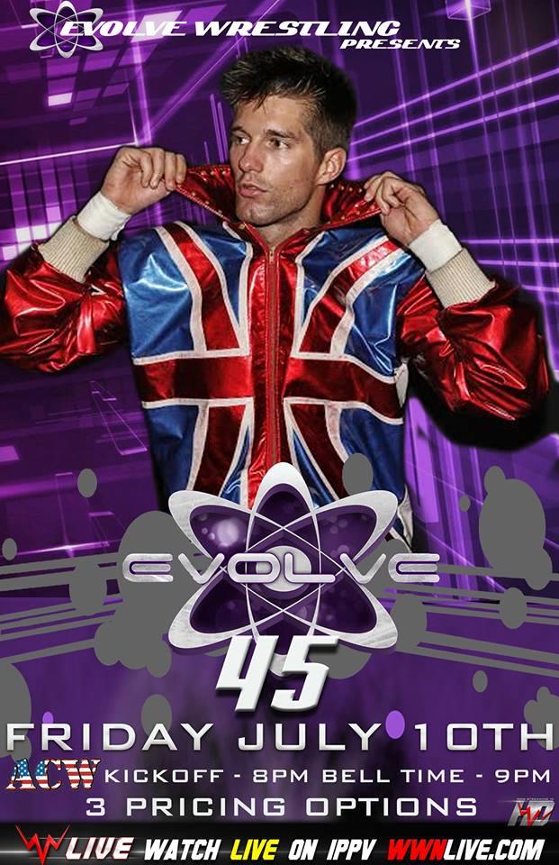 Evolve 45 poster