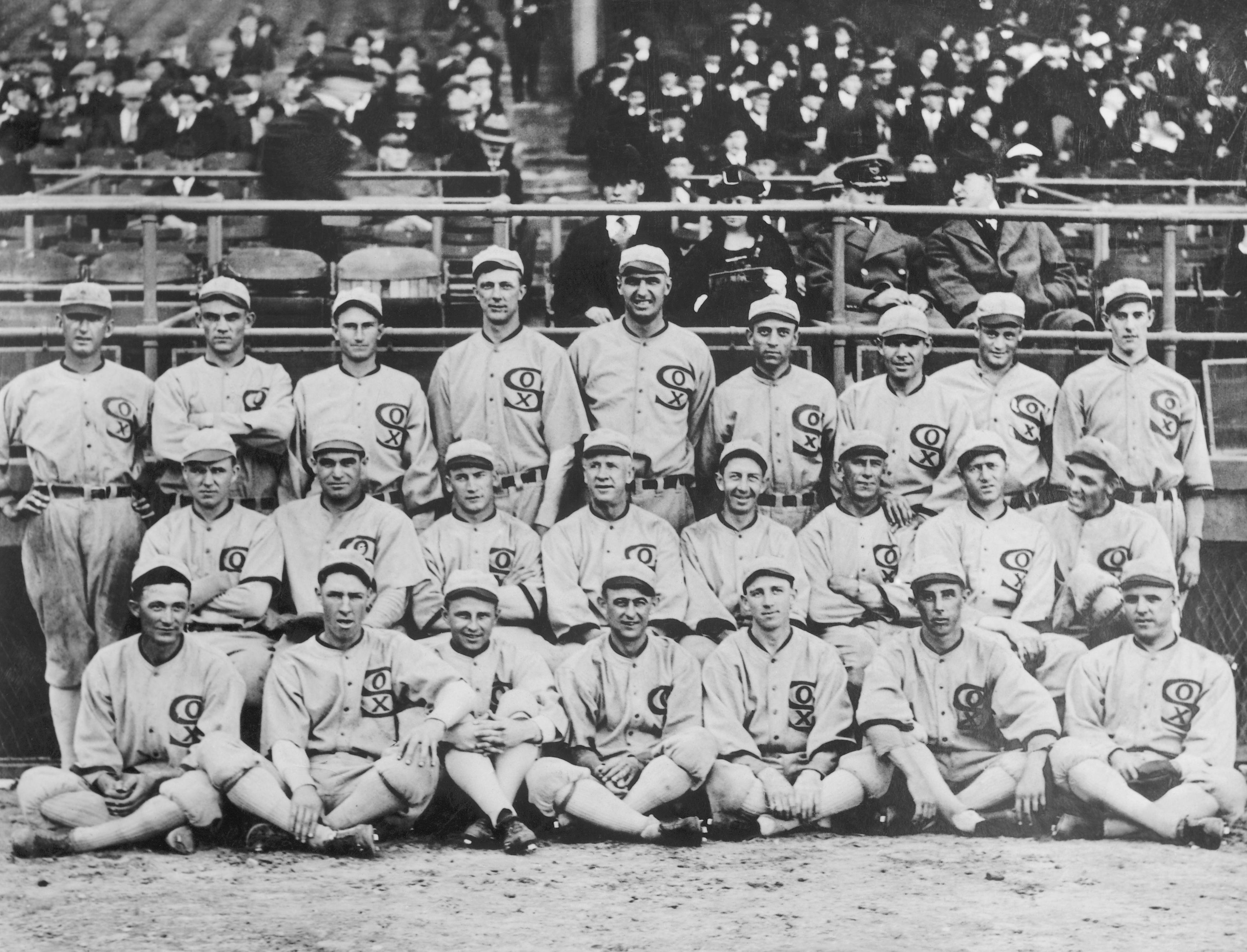 Group Shot of 1919 White Sox