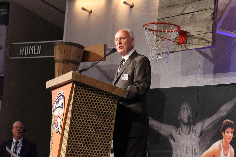 Basketball Hall of Fame Enshrinement Ceremony - Bunn-Gowdy Awards Dinner