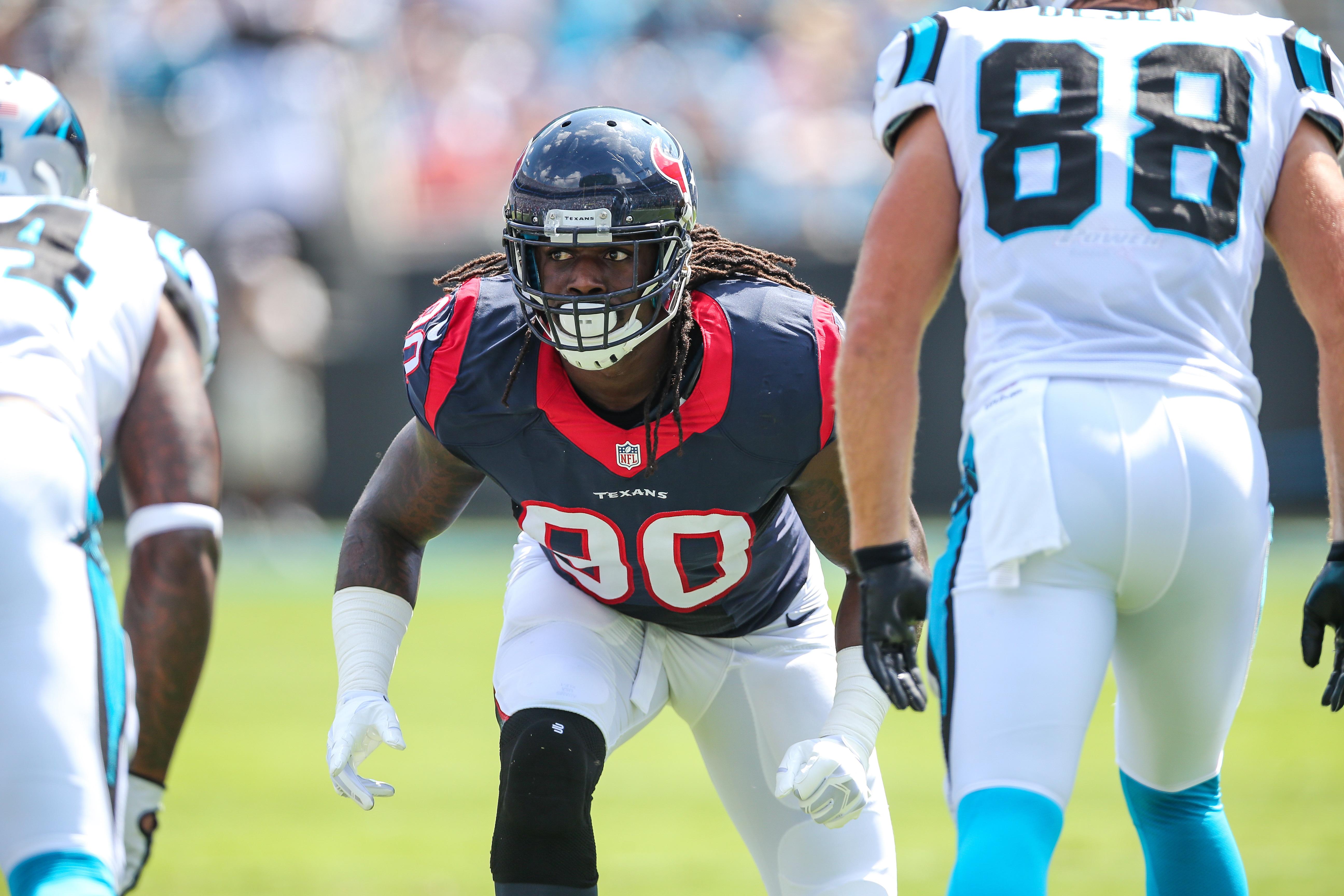 NFL: SEP 20 Texans at Panthers