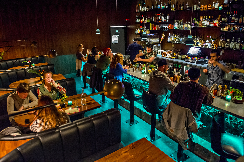 The SOS Tiki Bar