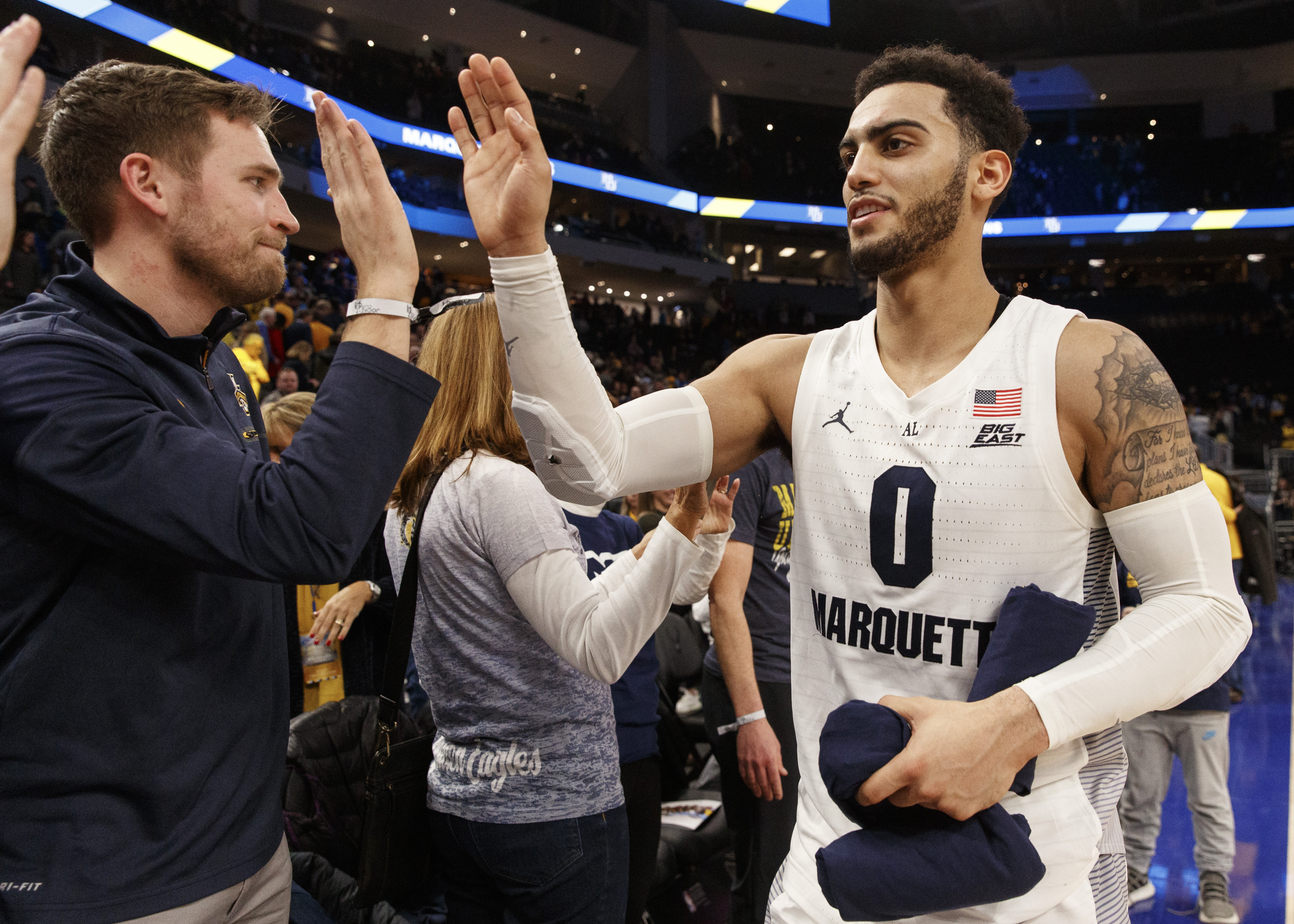 NCAA Basketball: DePaul at Marquette